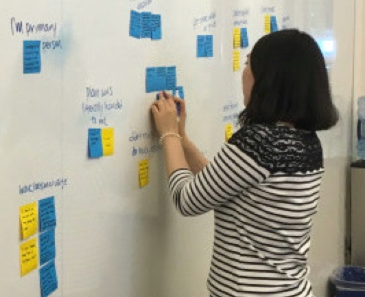 Synthesizing information from user interviews