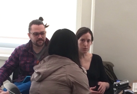 Interviewing a user