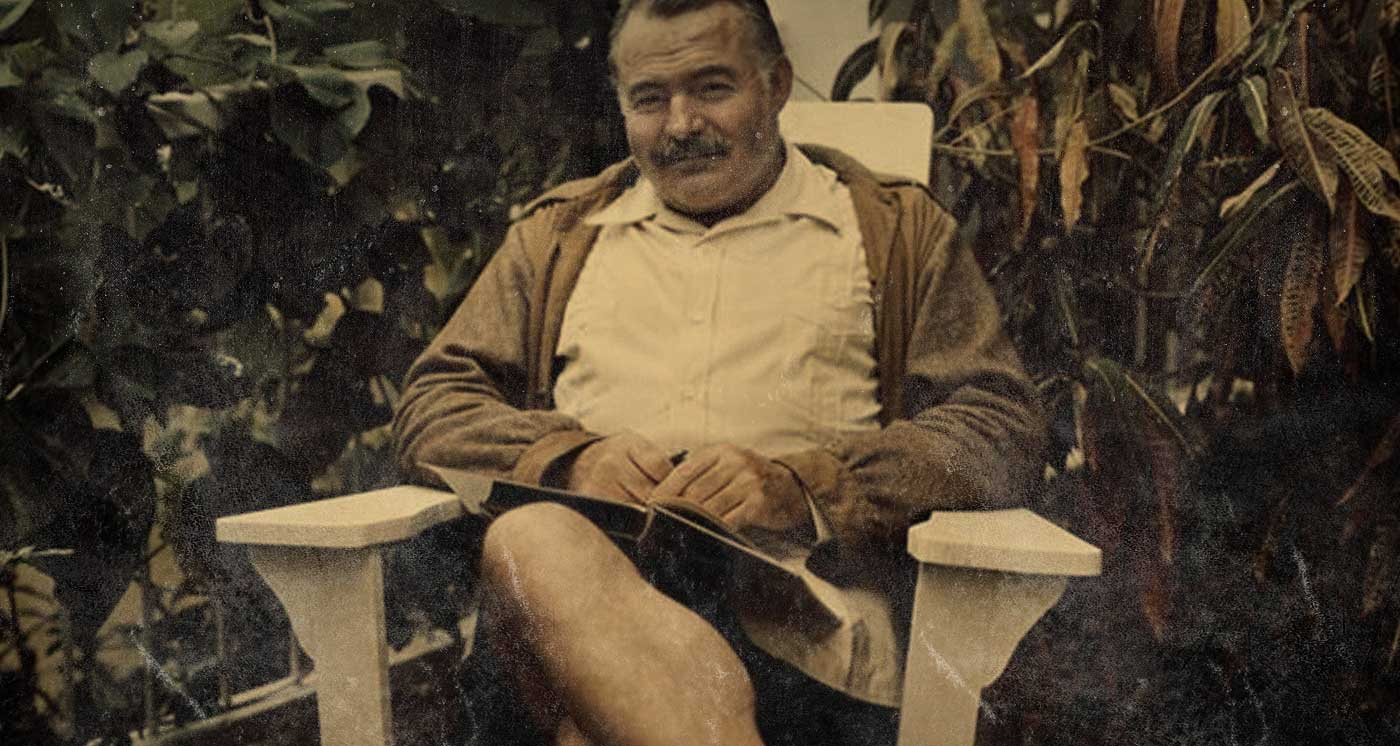 If a writer of prose knows enough about what he is writing about he may omit things that he knows and the reader, if the writer is writing truly enough, will have a feeling of those things as strongly as though the writer had stated them. The dignity of movement of an iceberg is due to only one-eighth of it being above water.  —Ernest Hemingway