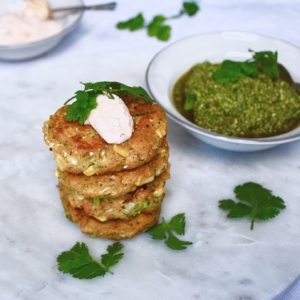 Bubble and squeak fritters