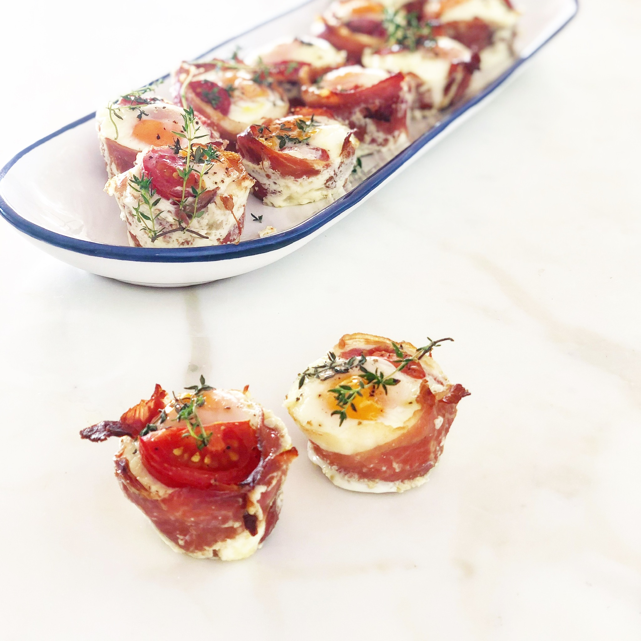 Egg and Pancetta Muffins