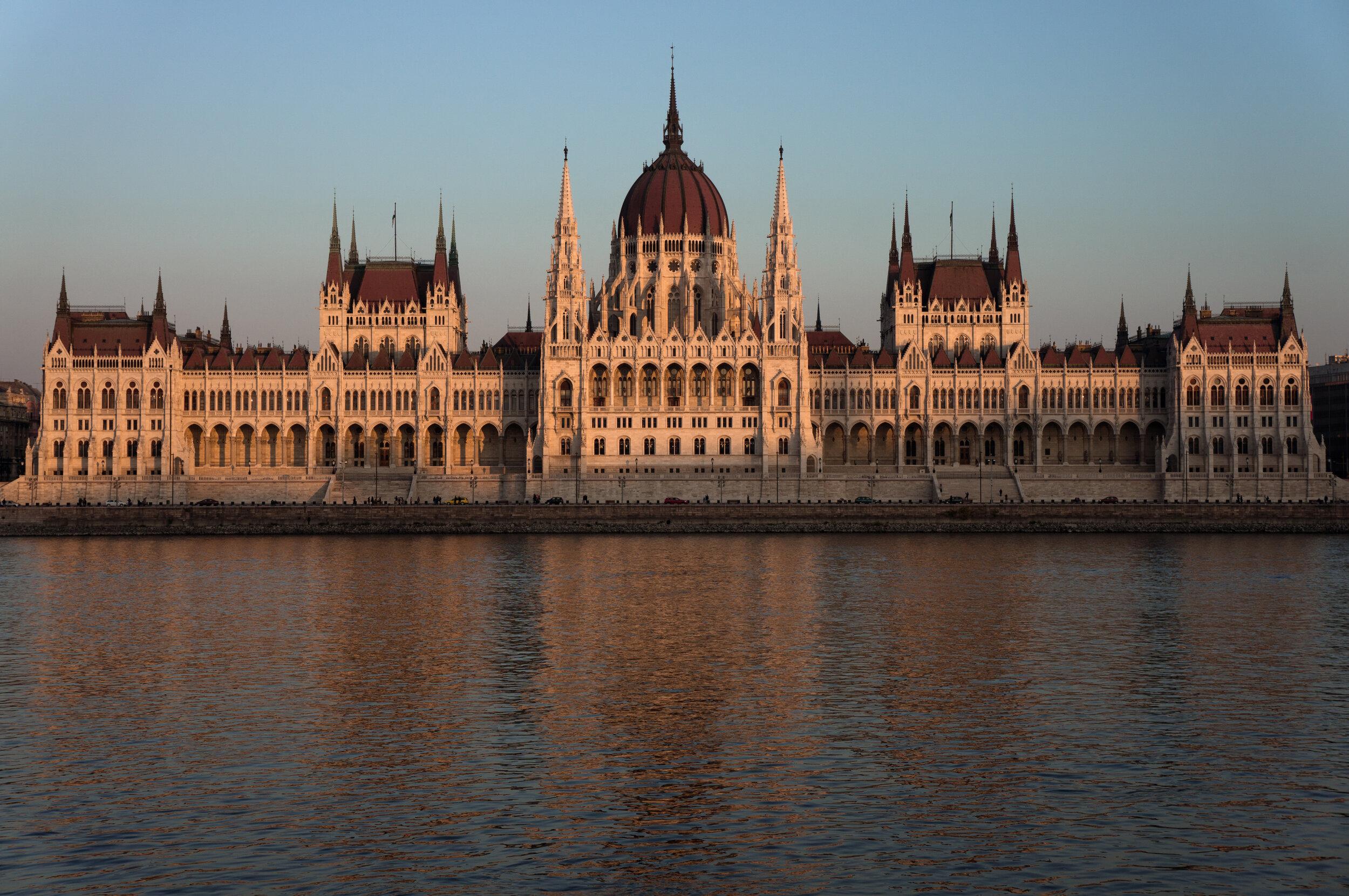 Parliament at Dusk