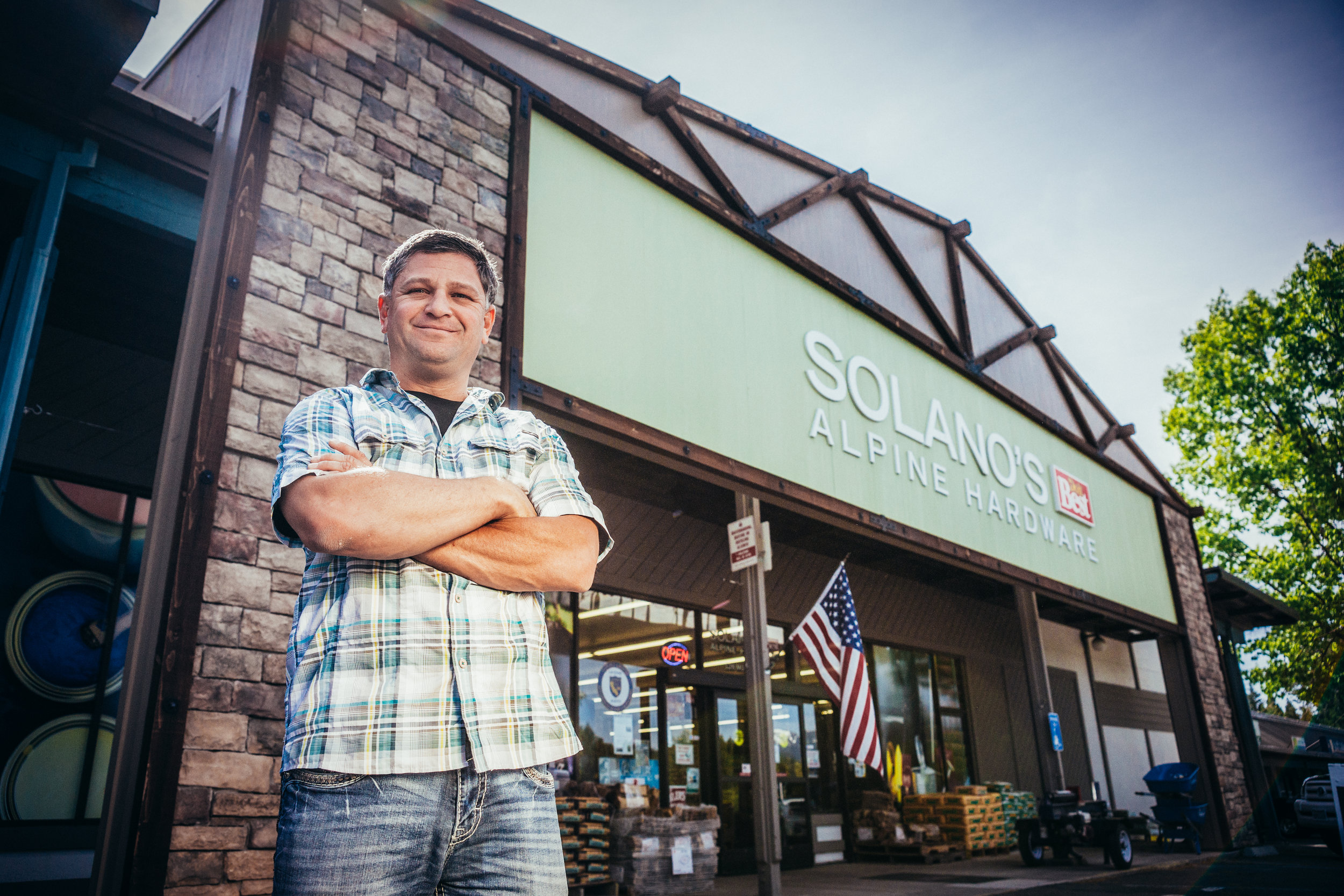 Mike Solano, Solano's DoItBest -