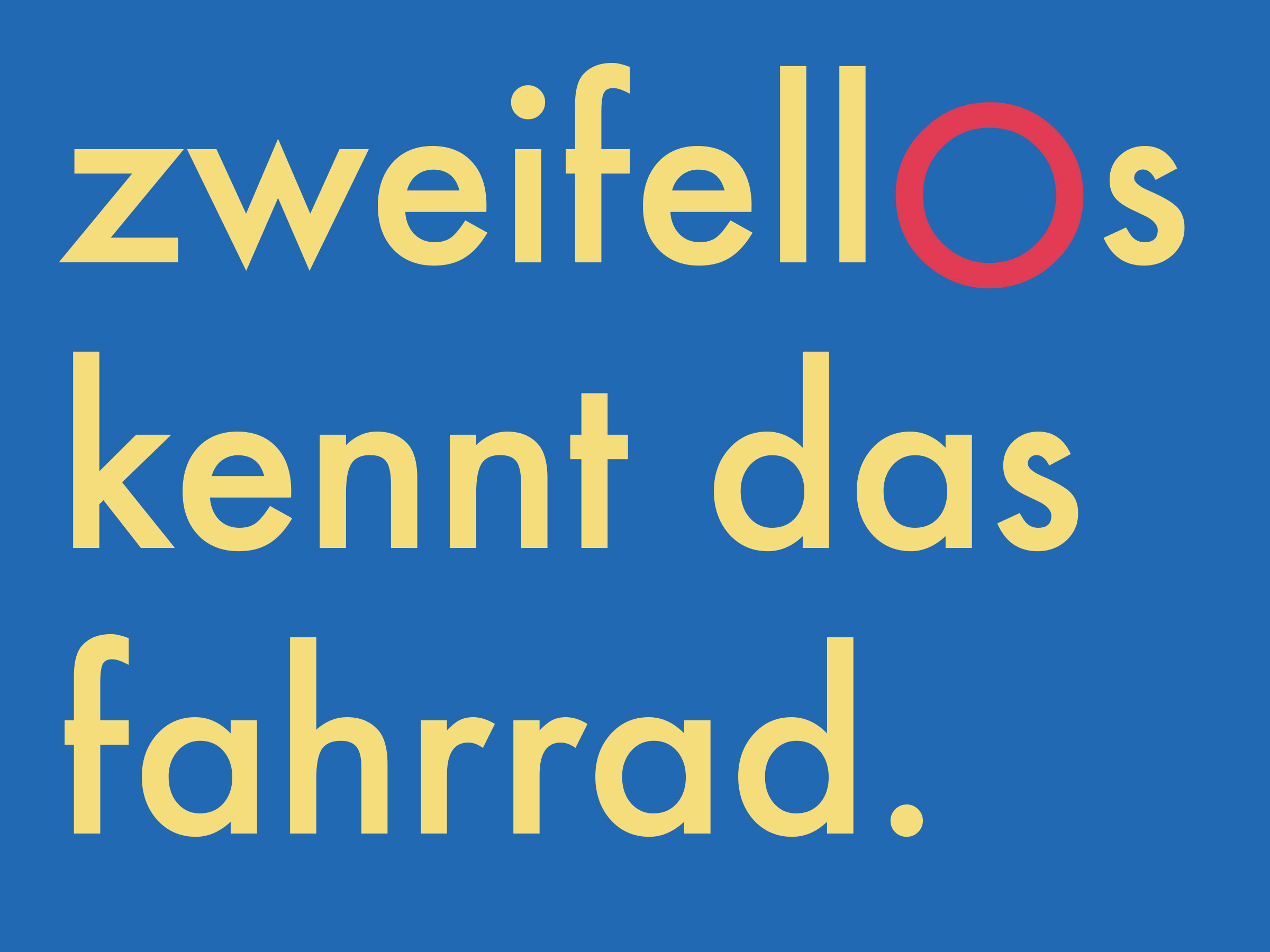 Campaign copy — designed in both German and English.