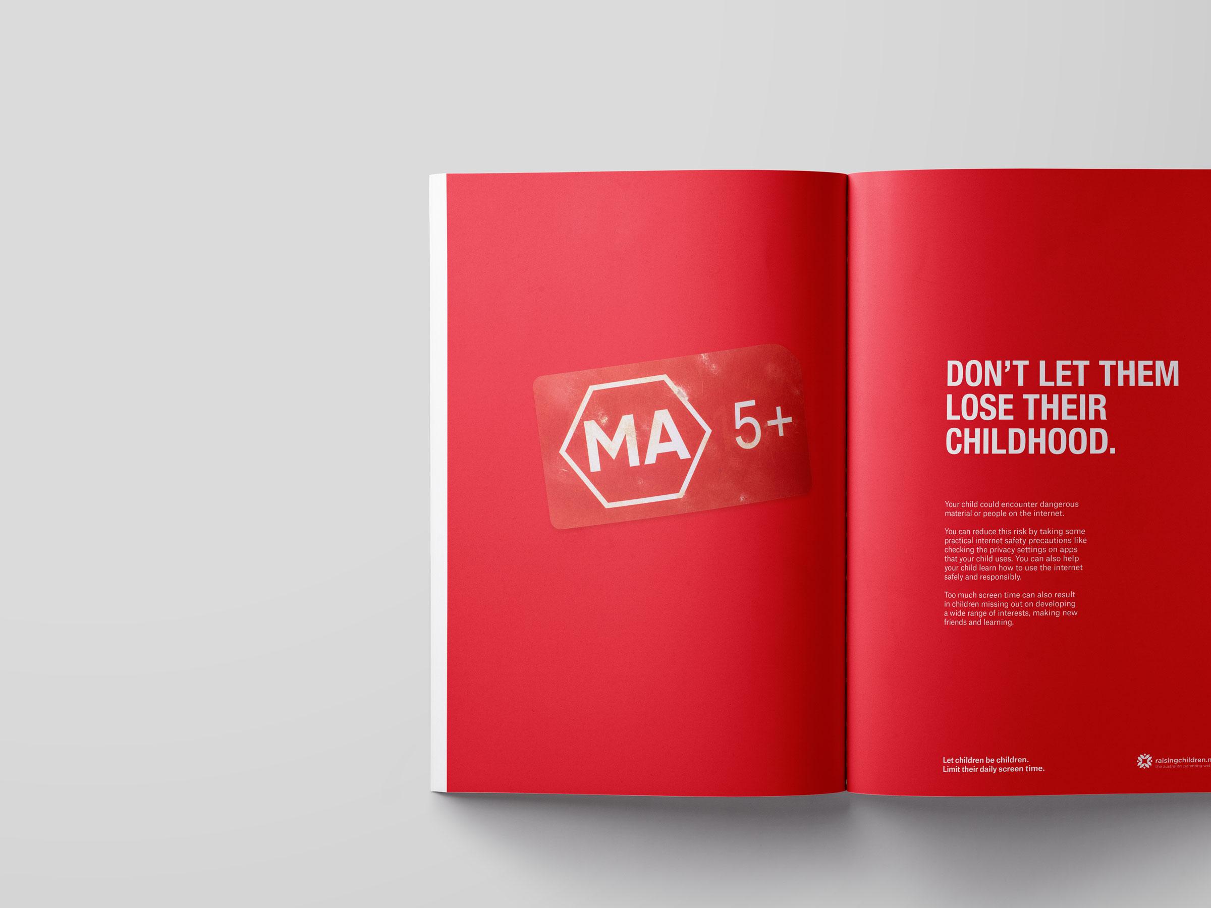 Print advertising.