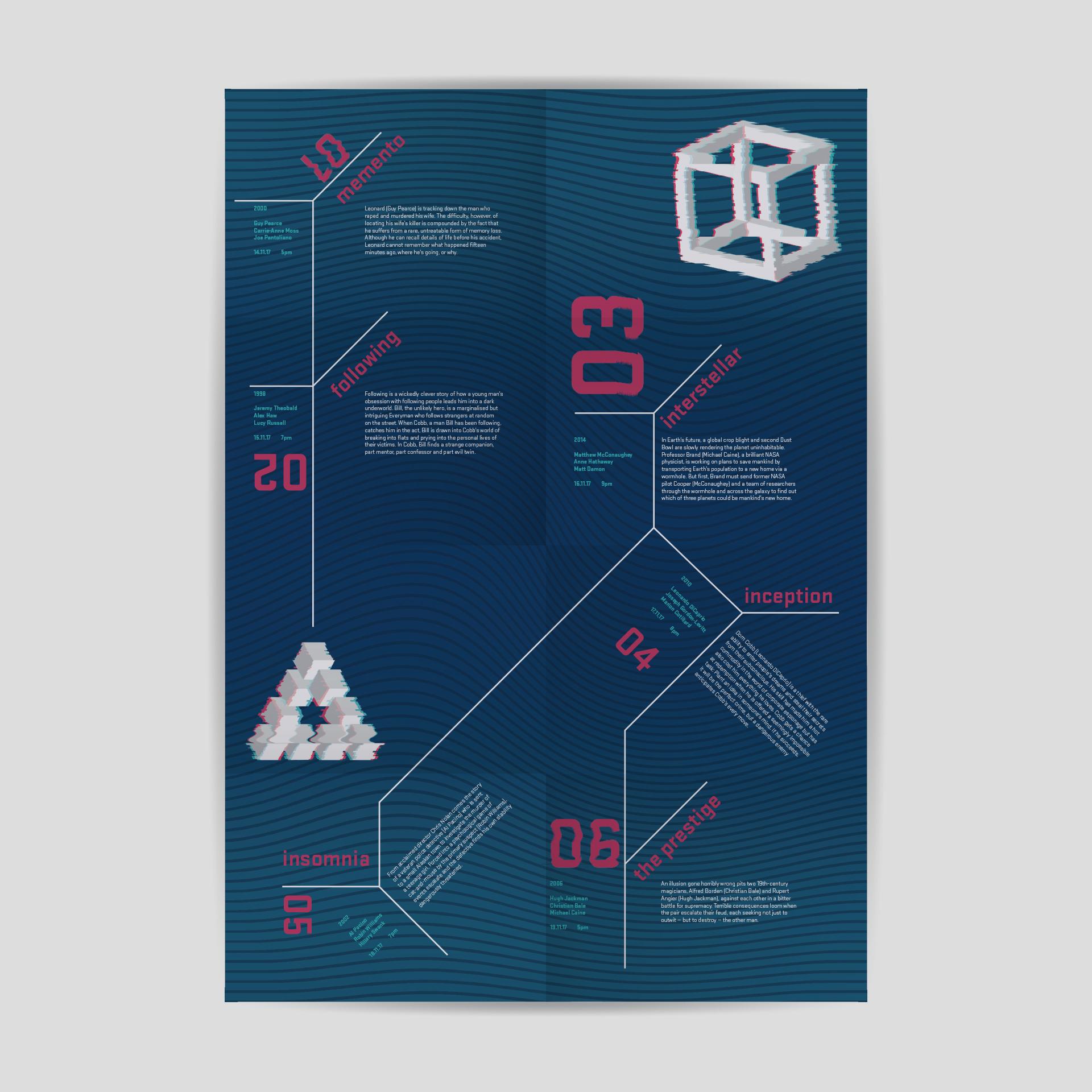 8-fold brochure design.