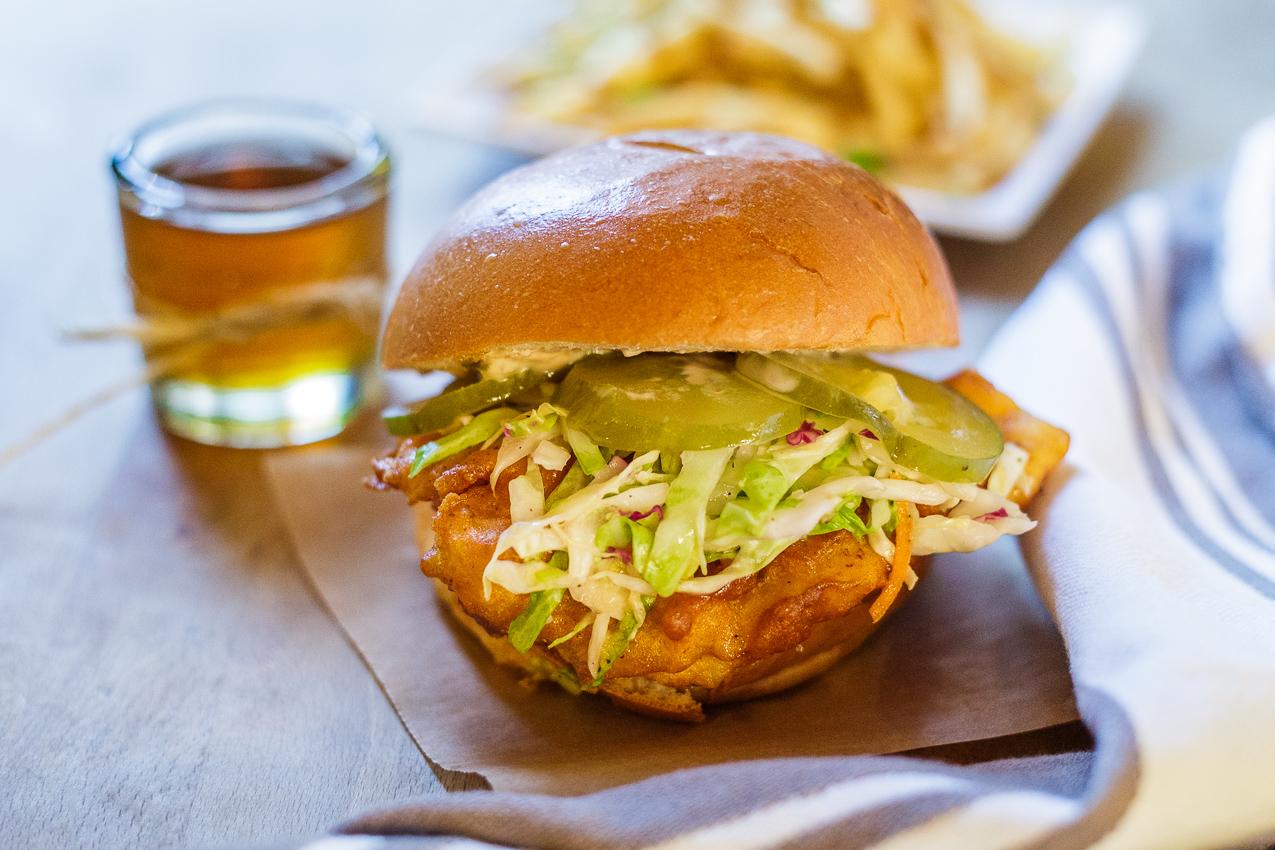 LA's Best Fish Sandwich