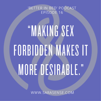 Exploring Forbidden Quote Sarasense Better in Bed Podcast