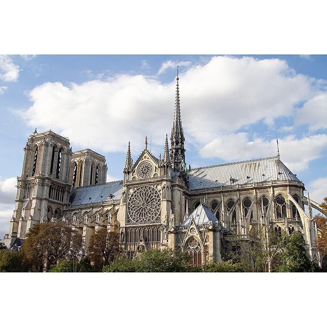 "If you've never been to Notre-Dame de Paris , you must go. The intricacy of the limestone masonry and the scale of the building is humbling. As we all know, the fire on 15th April took out the roof, also known as ""the Forest"". Each beam was made from an individual tree from 52 acres in the 12th century. These are our tourist photos from August 2011. . . . #notredame #ourladyofparis #notredameparis #cathedral #touristphotos #paris #travelblog #travelphotography #touristphotography #frenchgothicarchitecture #iconic #april15 #notredamecathedral #notredamefire #frenchart #arthistory #architecture #theforest #canon7d"