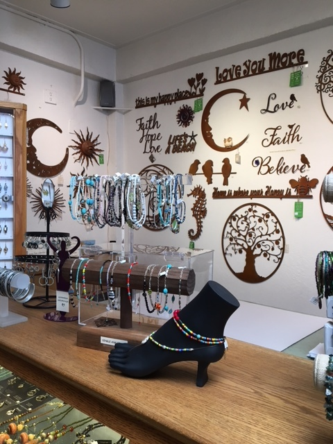 The Craft Gallery - Jungle Bee Designs on display at The Craft Galley in Capitola, CA.