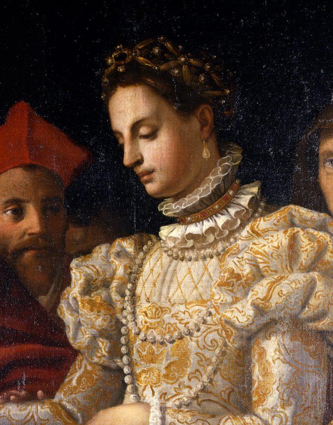 """Particolare-da_-Matrimonio-di-Caterina-de-Medici""""_Jacopo-Chimenti-detto-Empoli-""""_1600-ca_Gallerie-degli-Uffizi--680x866.jpg"""