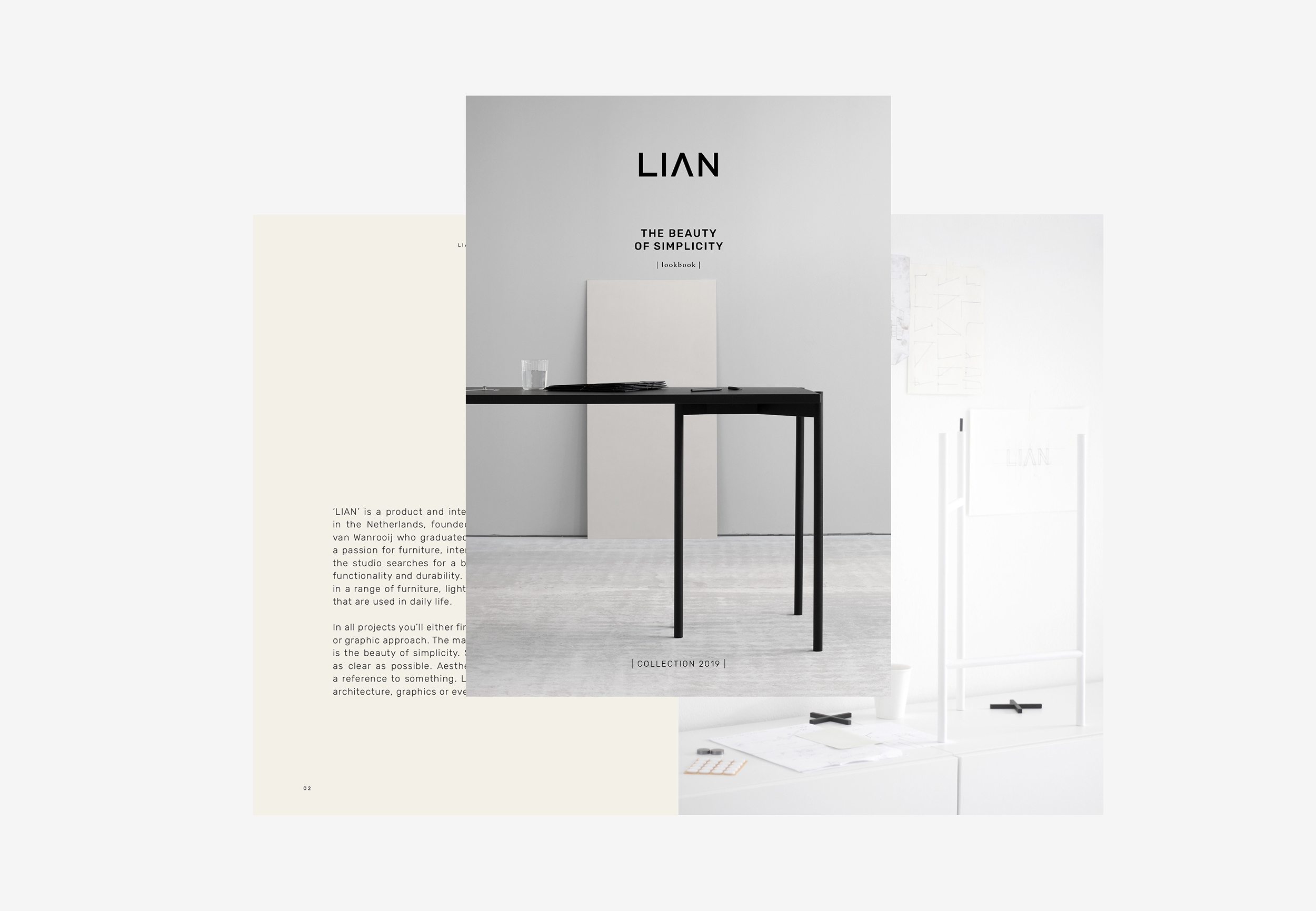 Sneak peak LIAN design studio Magazine