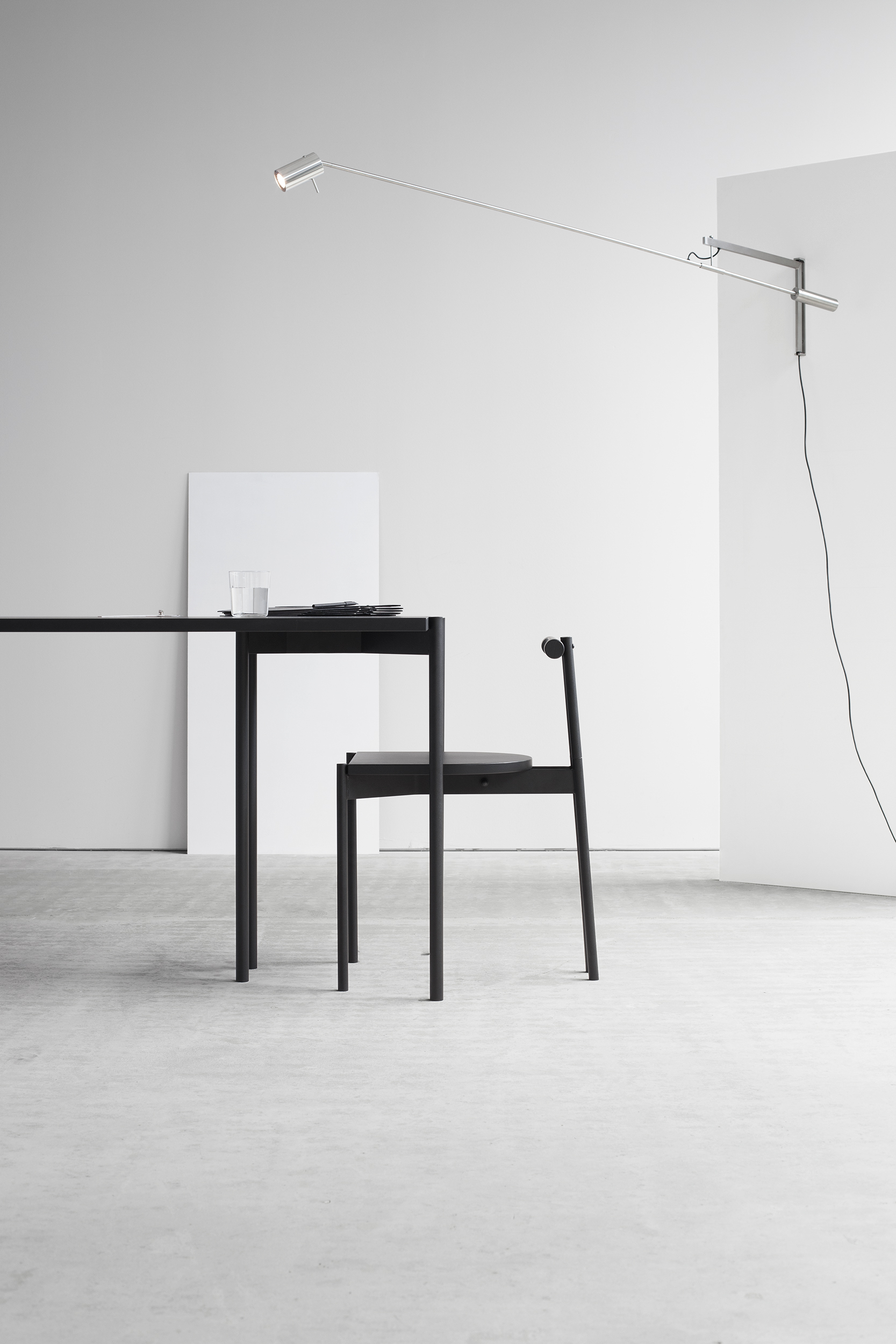 Force x Distance with Lintel table and chair