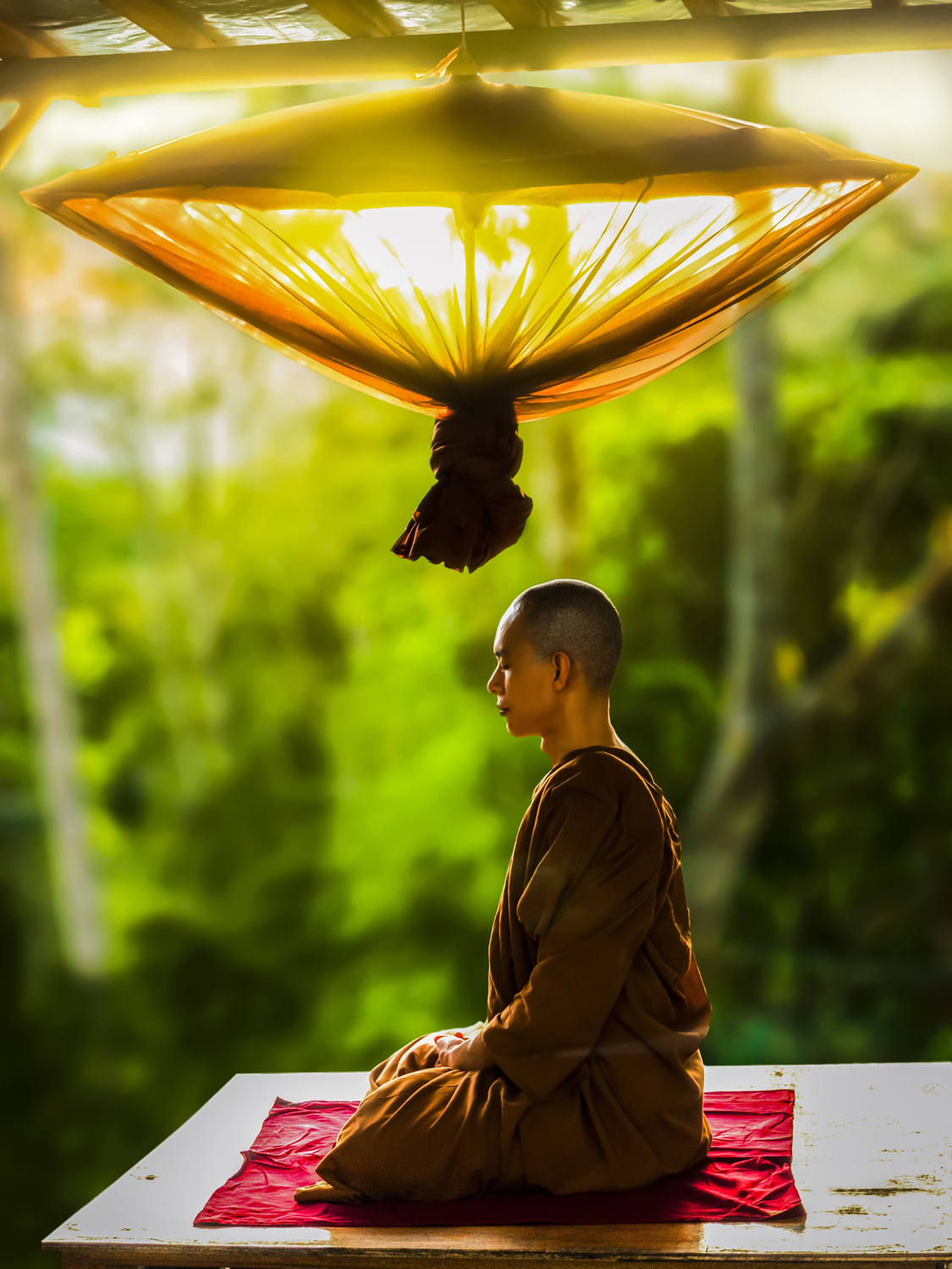 There's no need to become a monk to enjoy the benefits of mindfulness.
