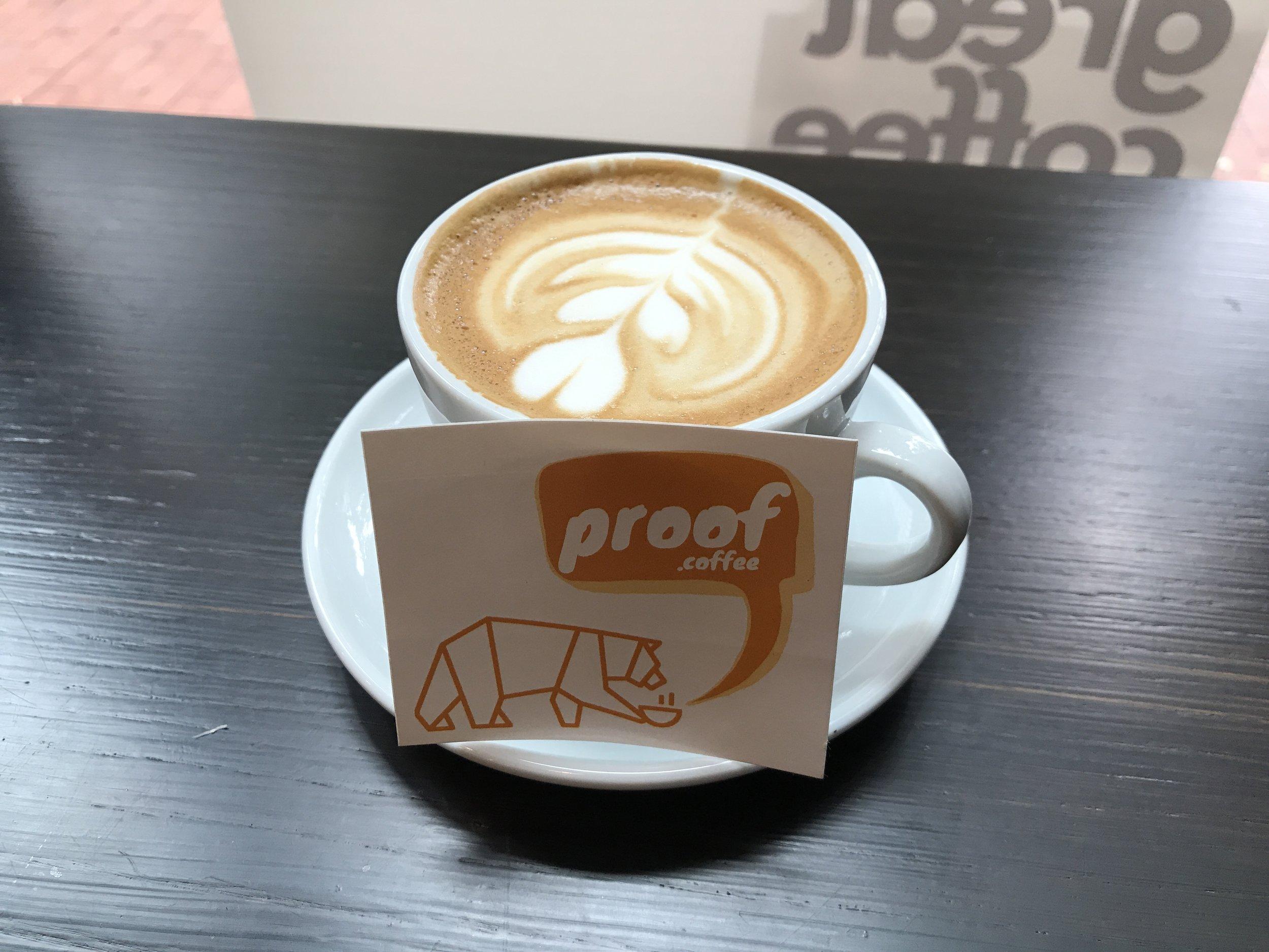 PROOF Coffee, New York