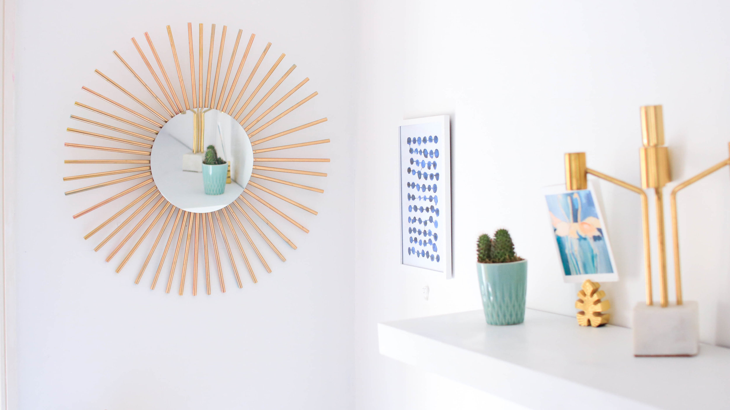 Ikea Hack Starburst Mirror