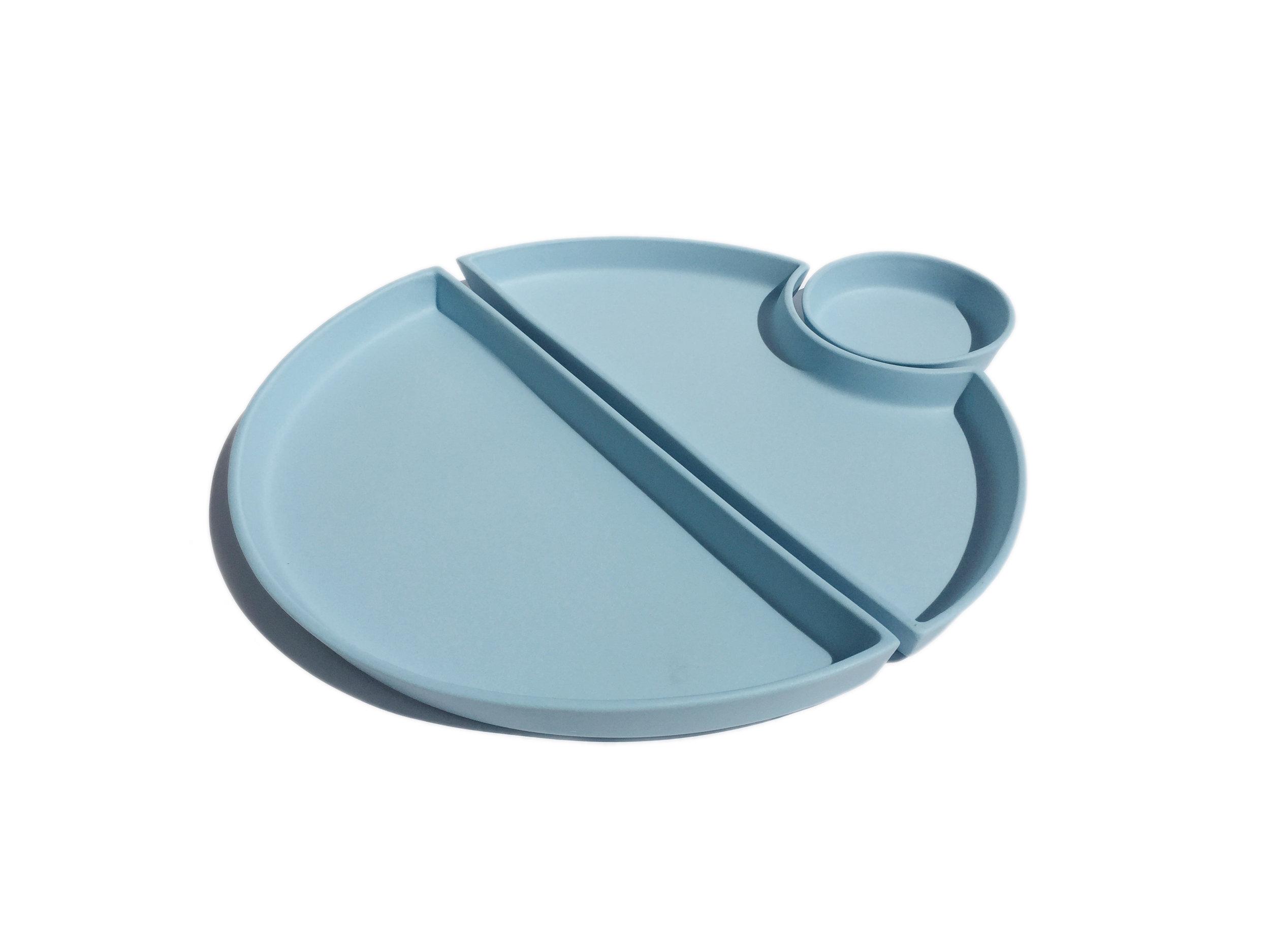 Light Blue Bento: