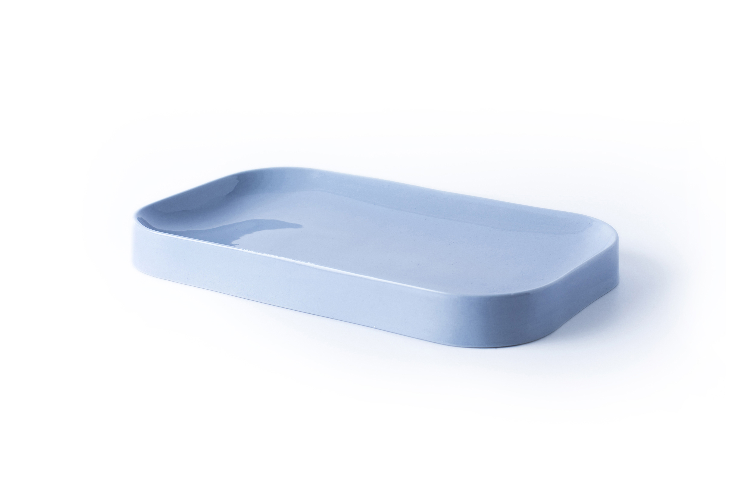 Blue Jade Plate - Light