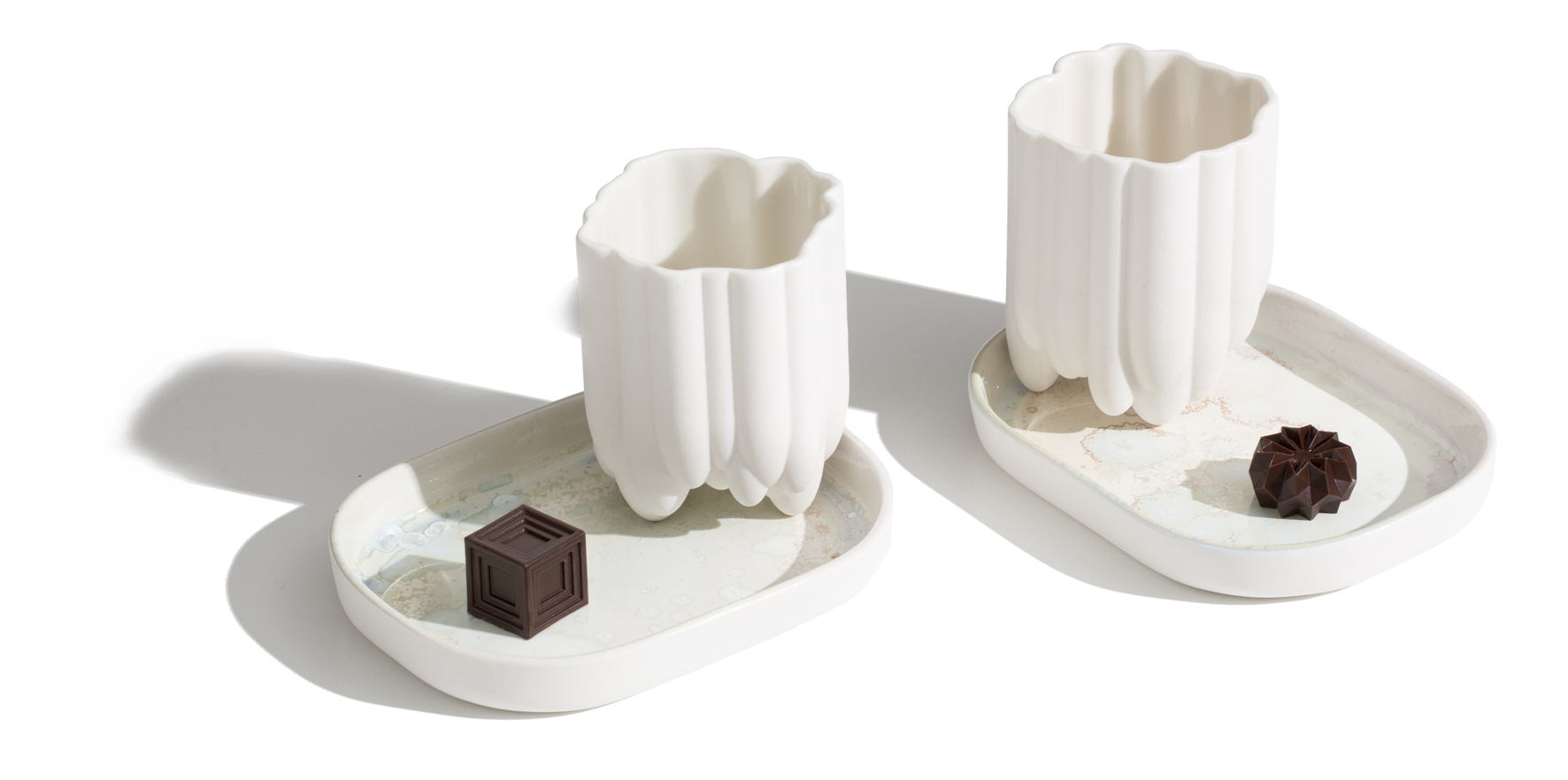 Modern serving options designed for the ultimate chocolate indulgence