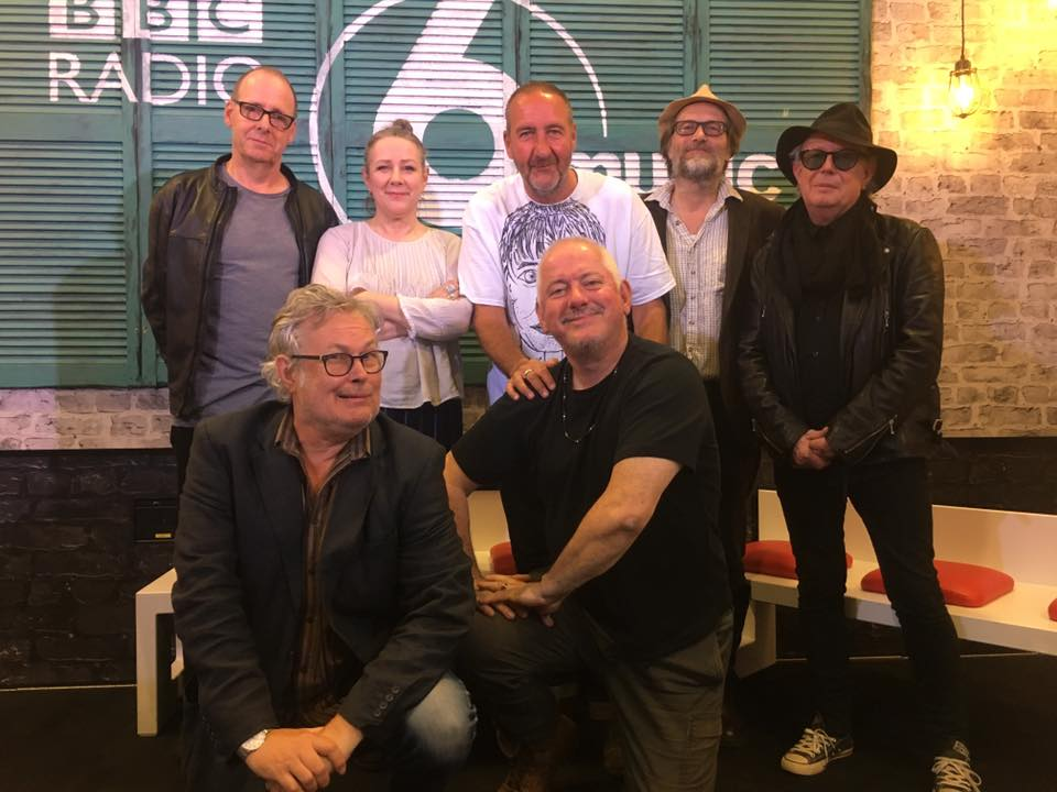 THE MEKONS WITH MARC RILEY, BBC 6, FOR A LIVE SESSION, FOLLOWING THE RELEASE OF STILL WAITING.