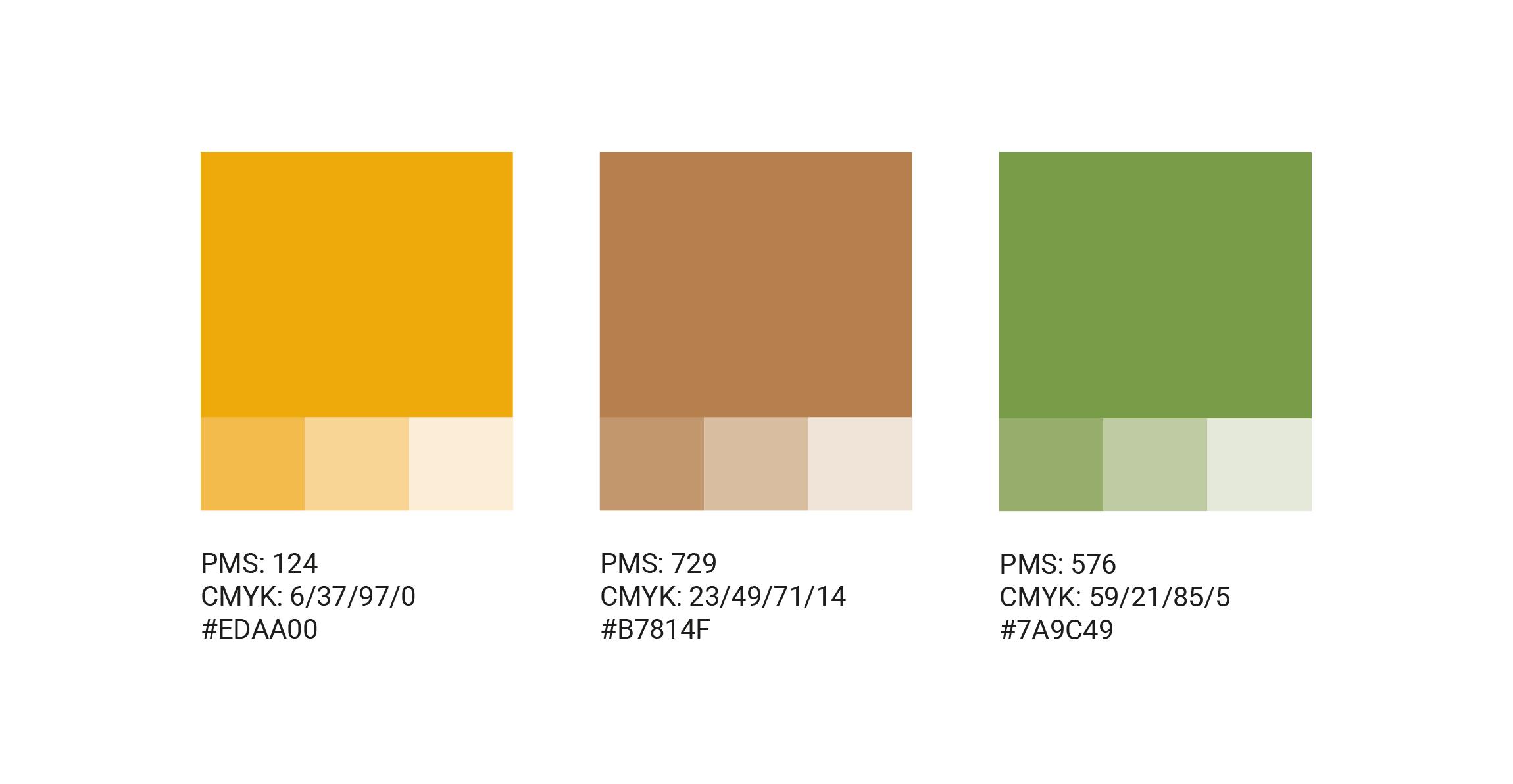 Fargepalett for Arbeidsglede AS