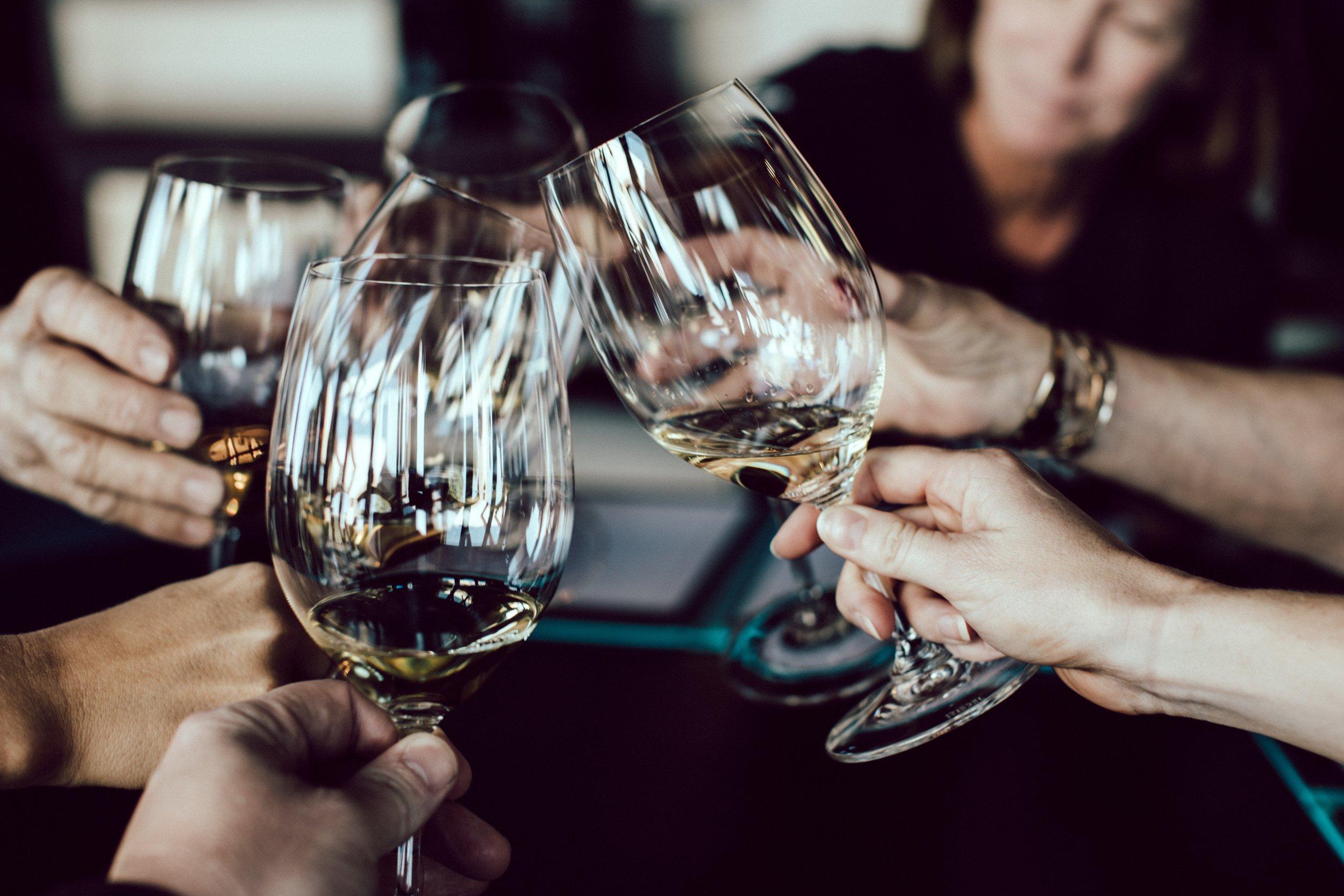 6 Gänge mit fachliche Weinbegleirung -