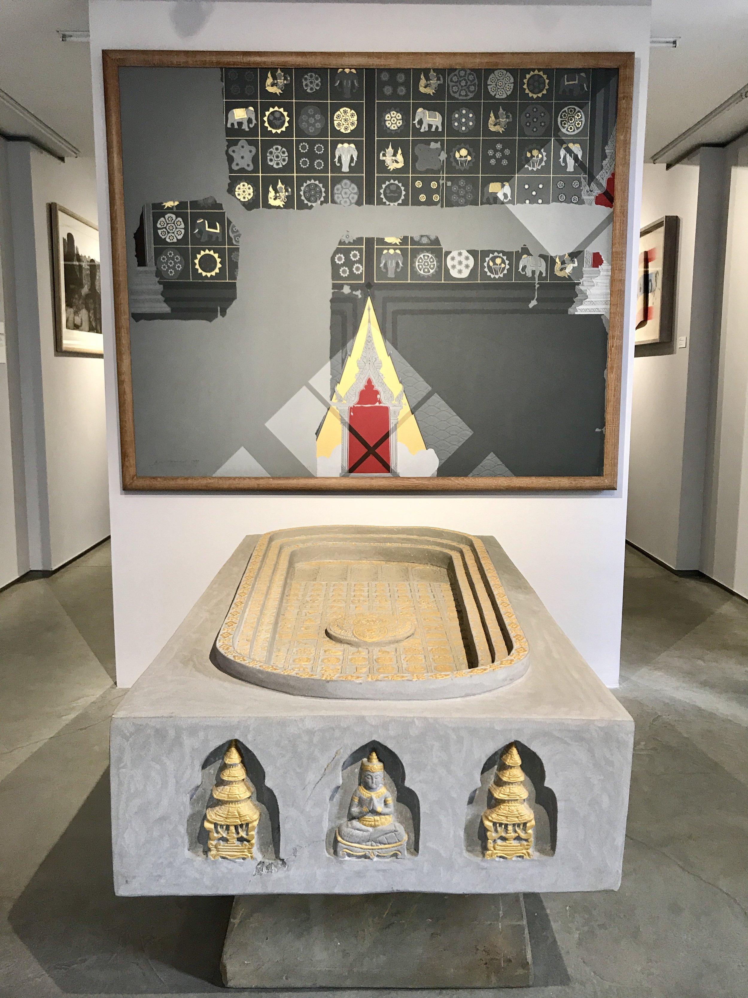 Buddhapada (Footprint of the Buddha)