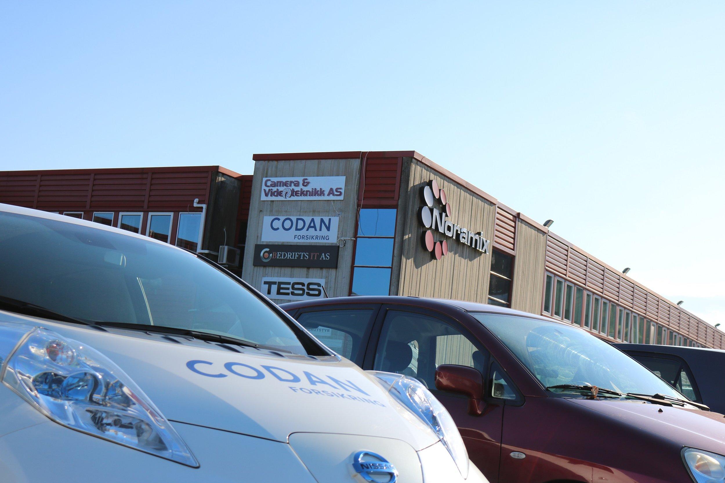 Huseier Noramix har lagt forholdene til rette for at Codan Forsikring kan vokse i Liavegen 1.