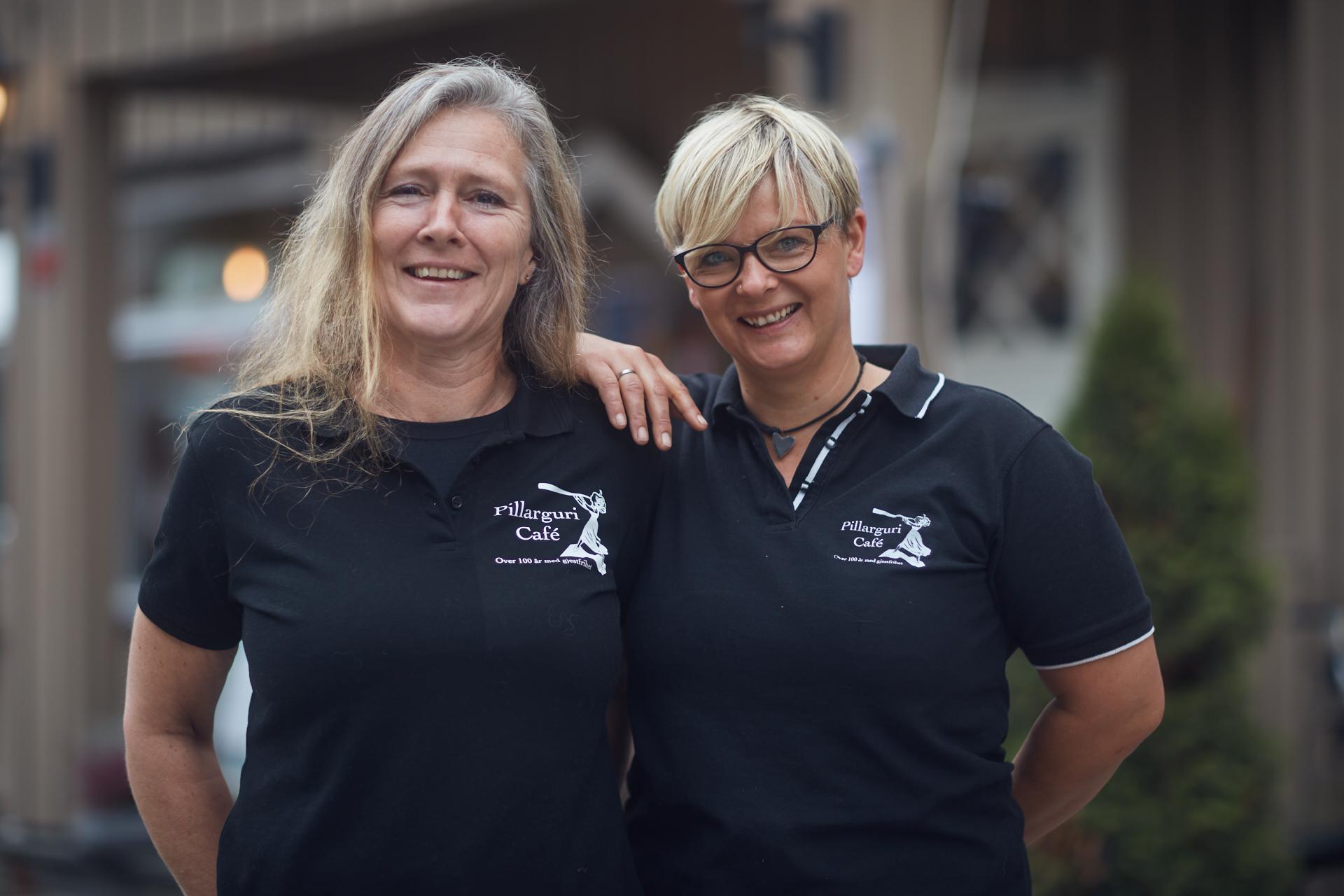 Sissel og Marianne driver Pillarguri Café