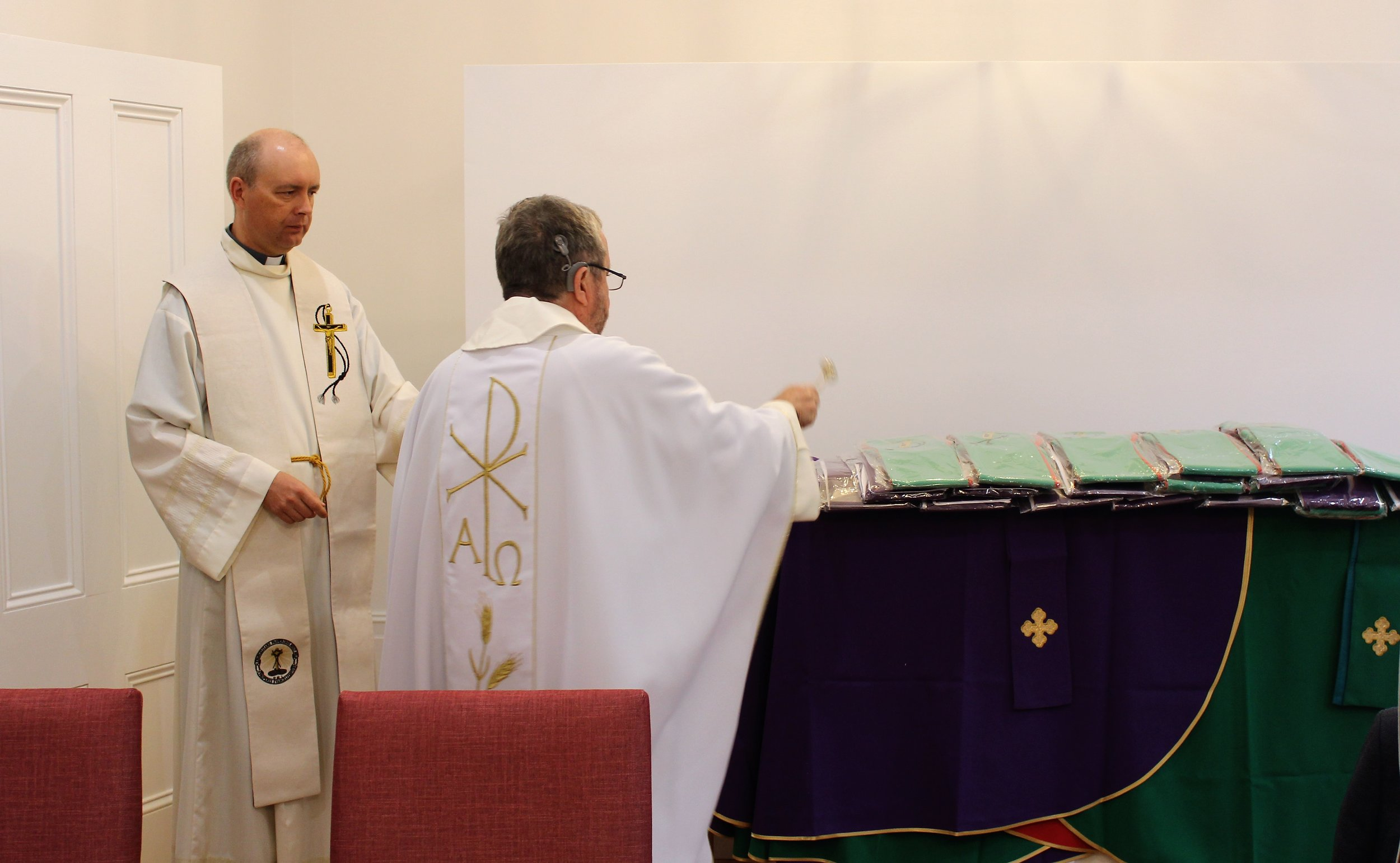 Blessing of new vestments