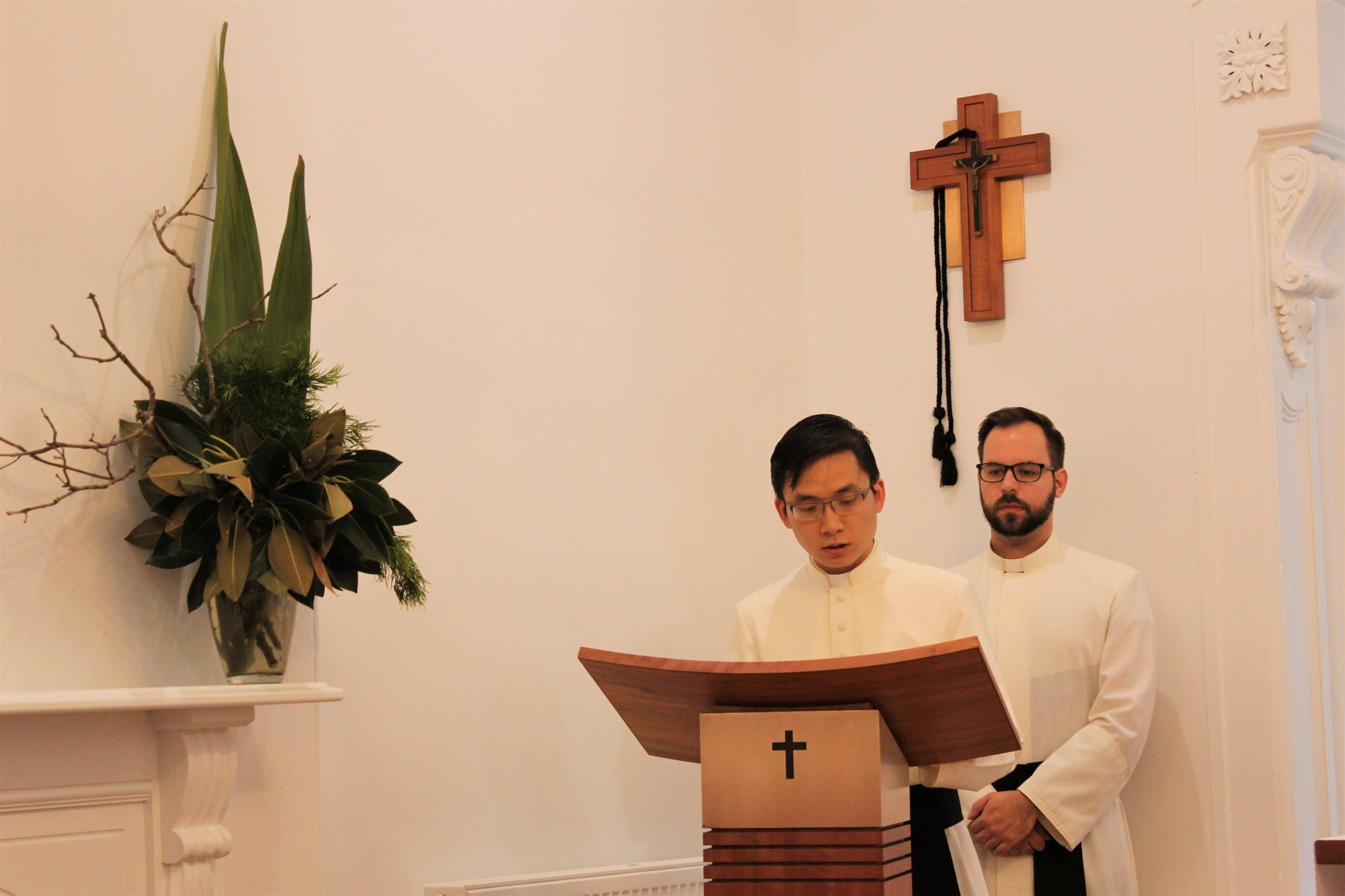 Br Thuan reading for All Saints' Mass