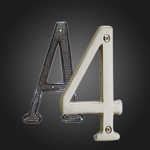 House Numbers & Letters    View Products
