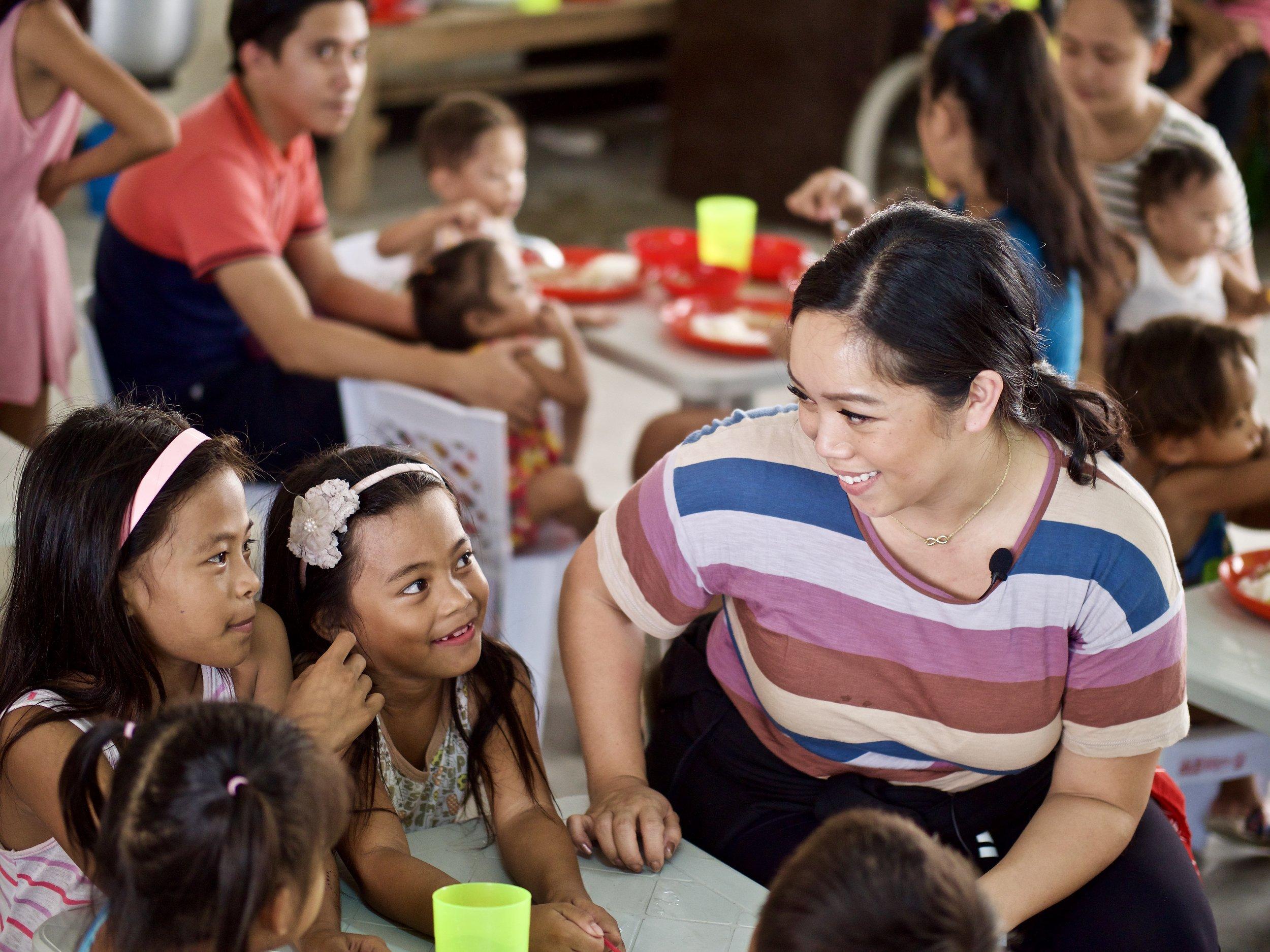 Save the Children Project NURTURE, Philippines, with Judy Travis @ItsJudysLife & @ItsJudyTime | Photo by David Löfman
