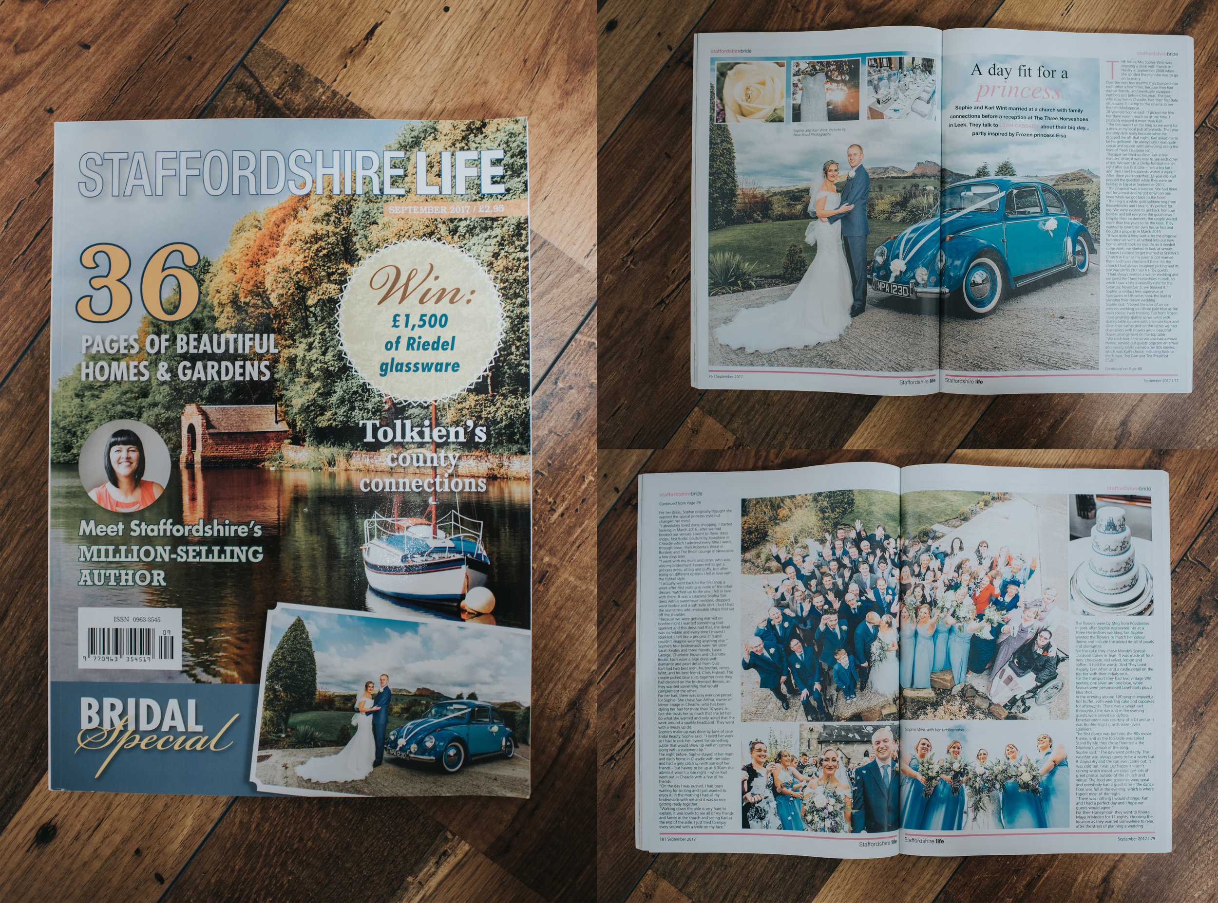 September Issue of Staffordshire Life 2017