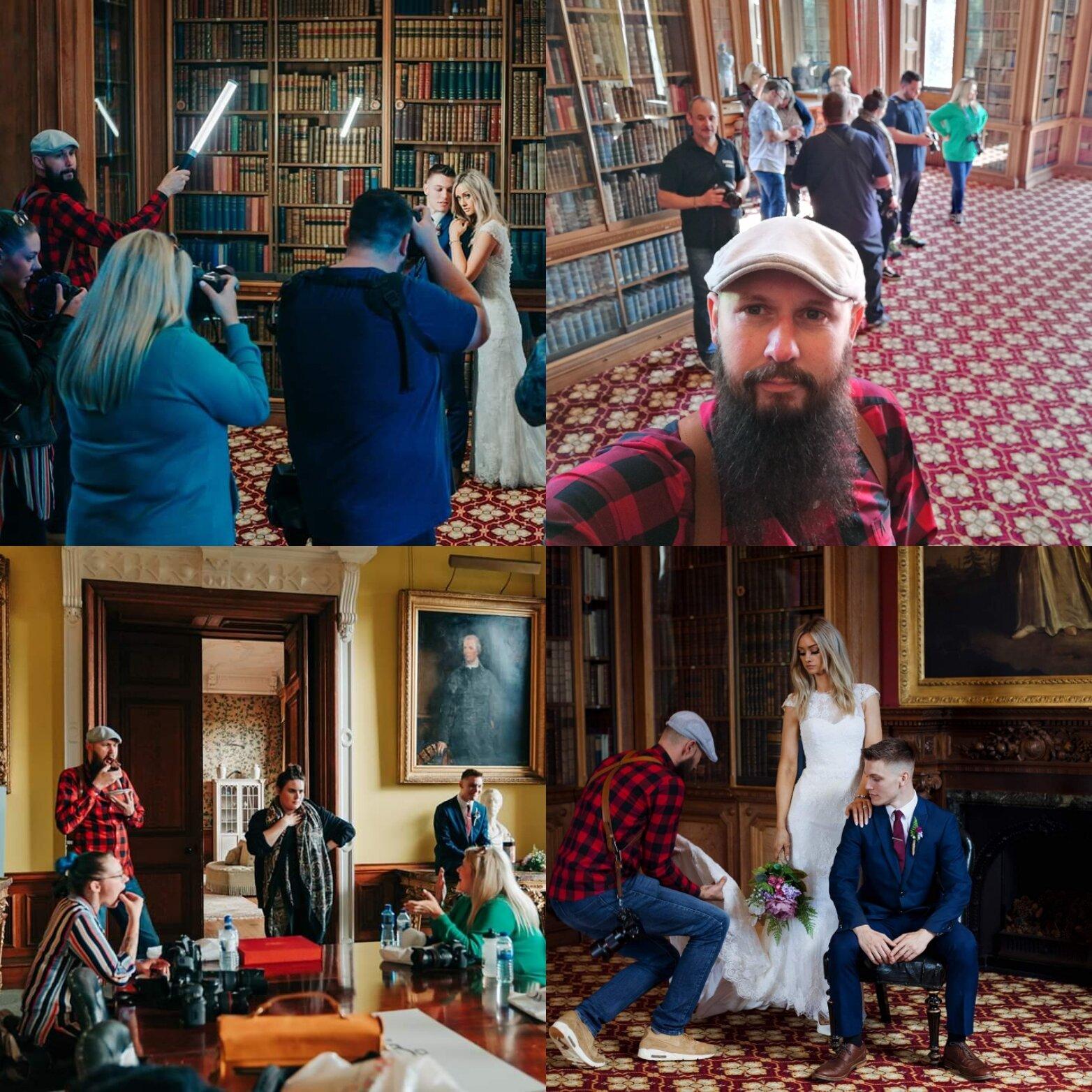 Behind the scenes, wedding workshop in partnership with Samyang Lenses UK September 11th 2019