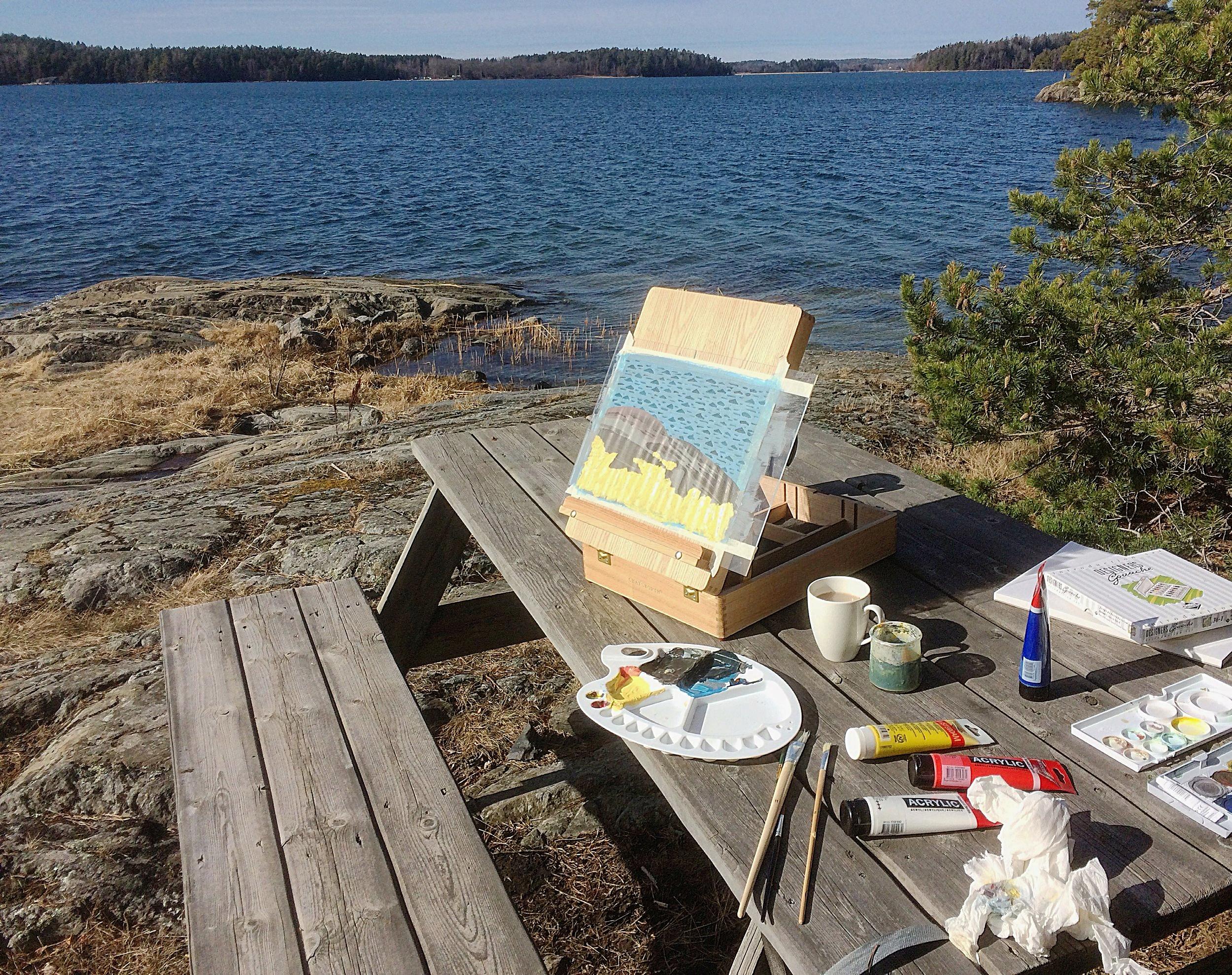 Archipelago Acrylics - A weekend at Möja
