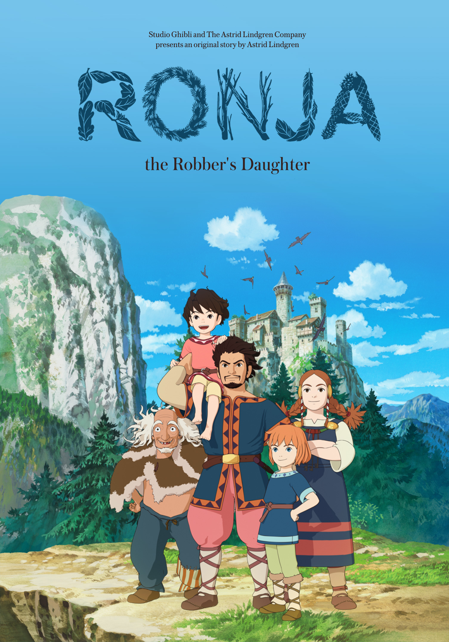 Ronja t he Robber's daughter   Identity and logo