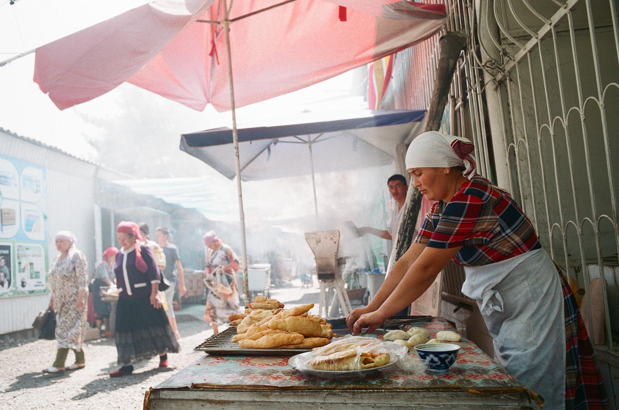 Notorious Kara-Suu Bazaar. Osh