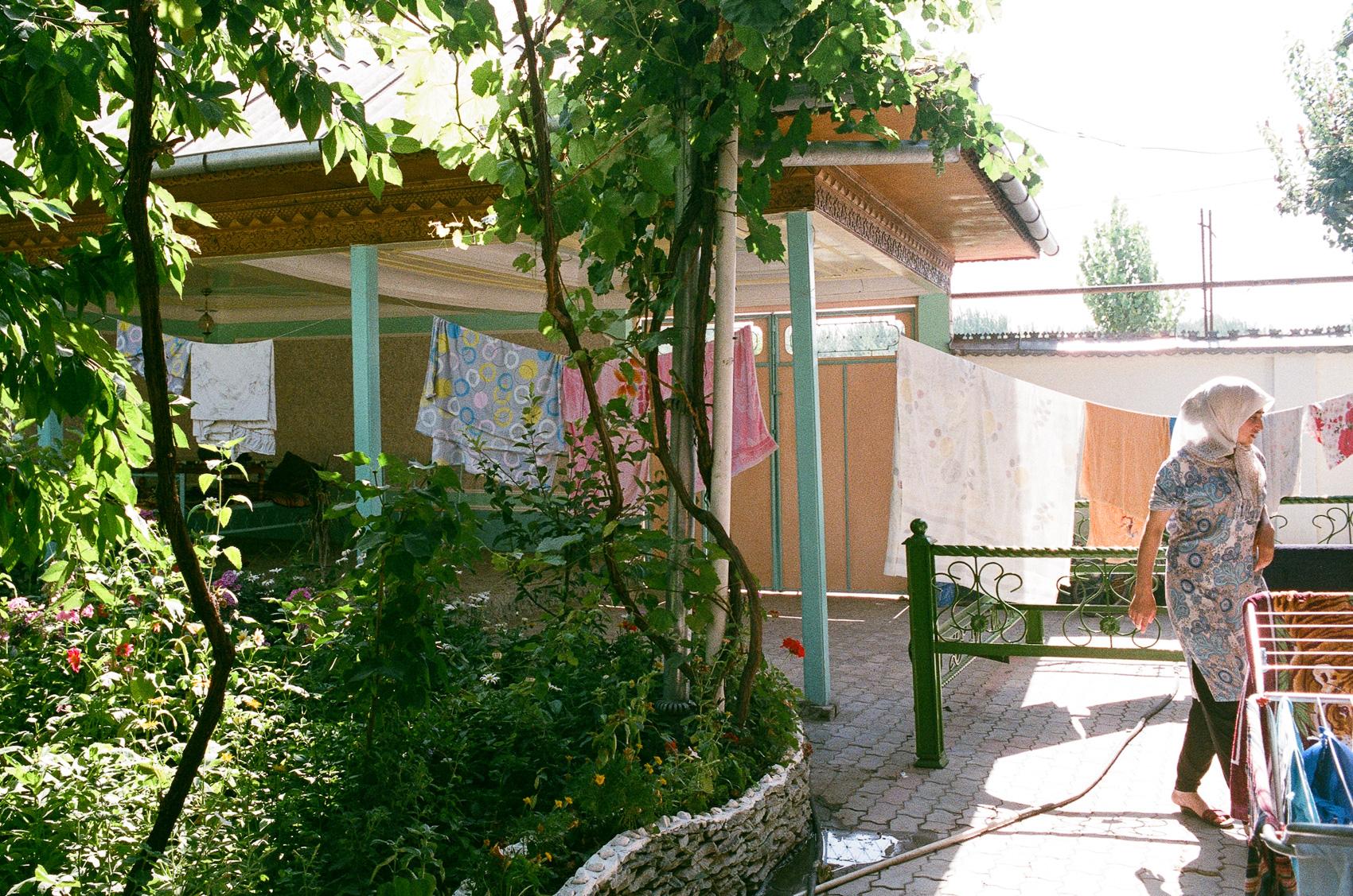 Gulshada's house