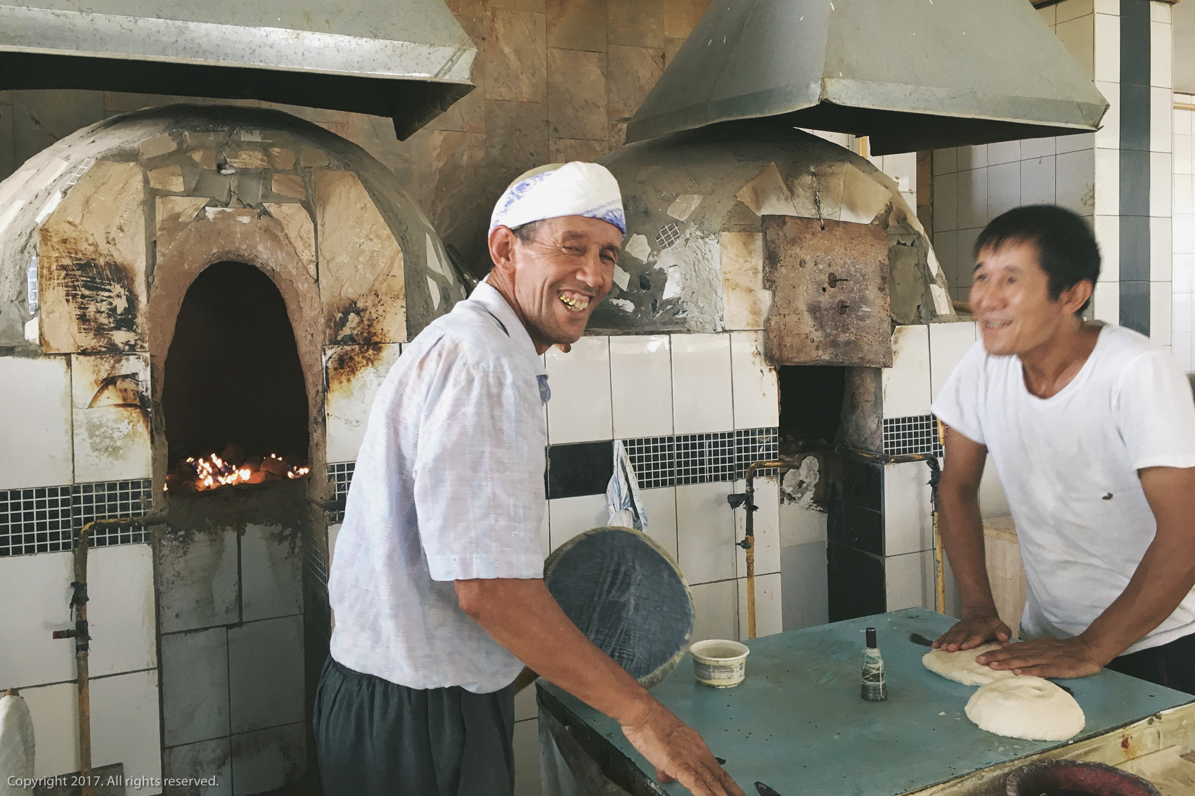 Bread-makers in Tashkent