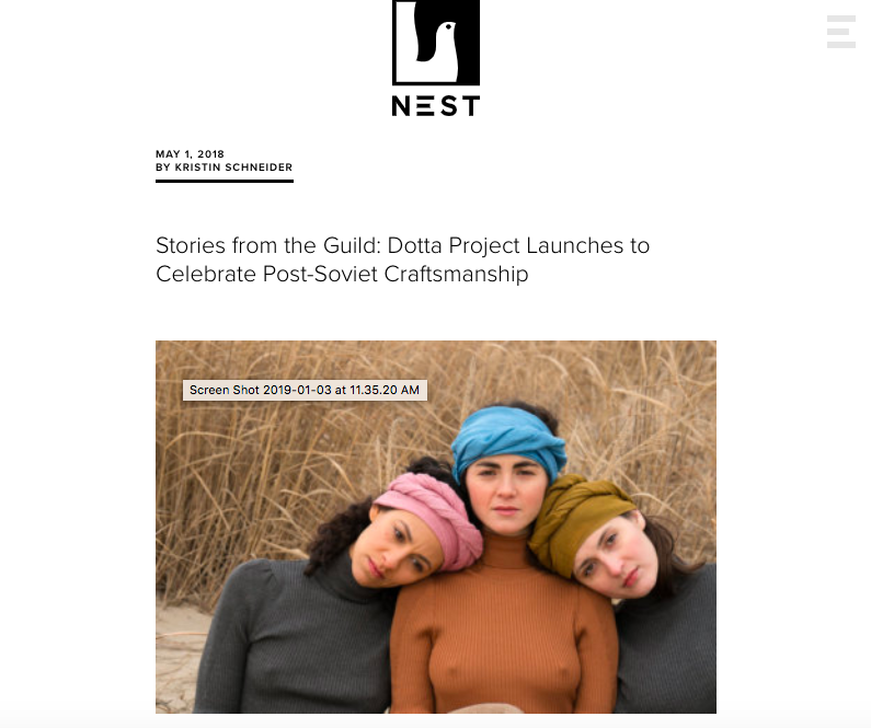 Nonprofit Nest investigation of how heritage feeds creativity