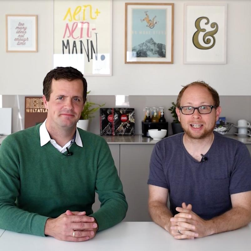 Der Gründungsprozess bei CTC   Video Blog by: Stephan Pues & Alex Deuscher