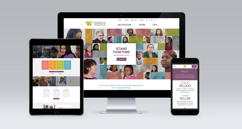 I've done design and UX for websites, too.