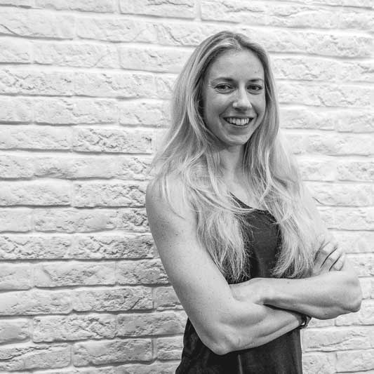 """Emily E - Instagram: @enerjize_fitnessEmily is our """"jack of all trades"""" and master of ALL. A level three PT who's certified in loads of formats, her real passions lie in marathon running, yoga and teaching group fitness. Regardless of which class you take with Emily, you're guaranteed a serious workout delivered with a huge smile.Motivational, Smiley, Passionate"""