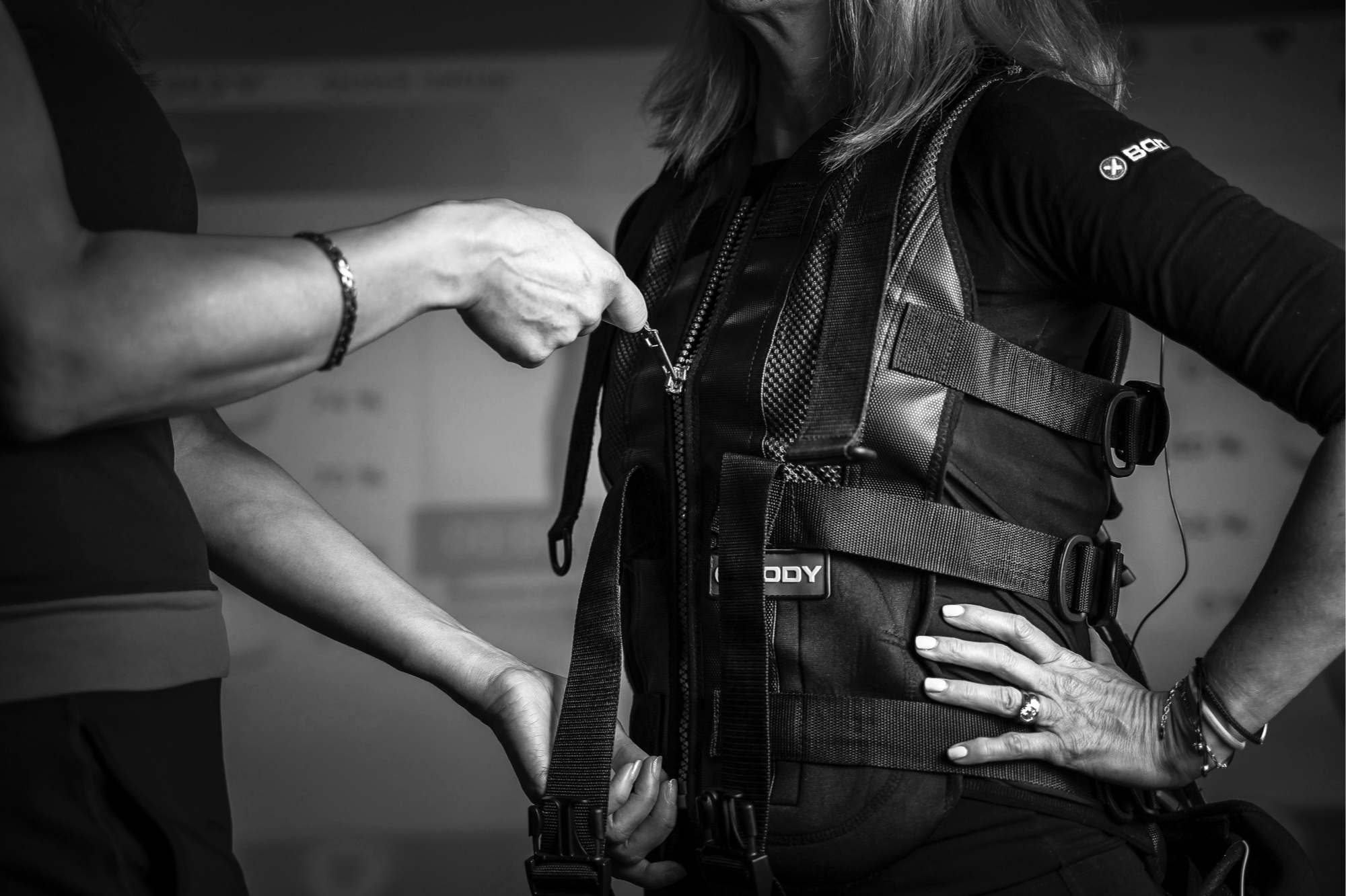 Is EMS safe? - Yes completely safe. Probably the safest training you can do as it is very low impact and it is actually invented by physiotherapists and doctors for rehabilitation of patients. There are a list of contraindications that we explain to each client before the first session.