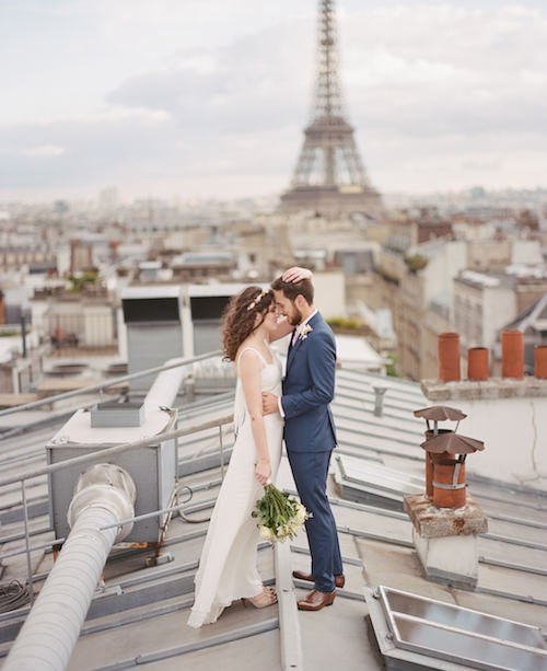 Laurine & Anthony - Toits de Paris