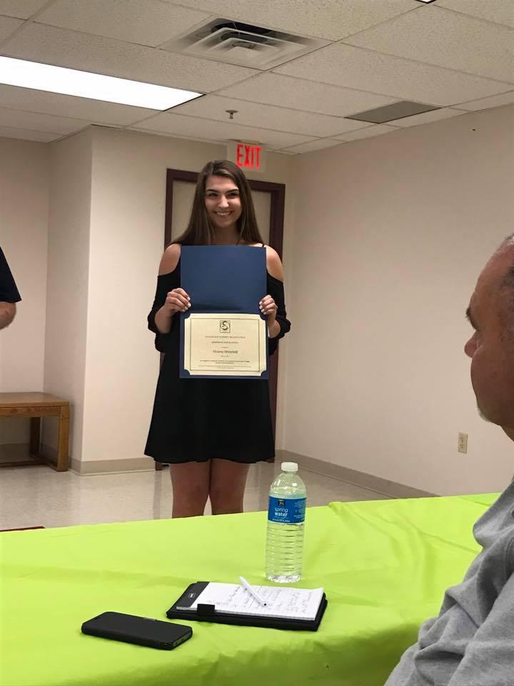 Scholarship Winner 2017