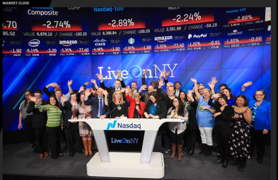 TSO with LiveOnNY at NASDAQ, 4/2/2018