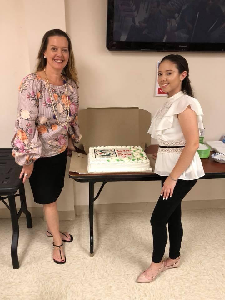 Jeanne and Lauren Shields, June 2018