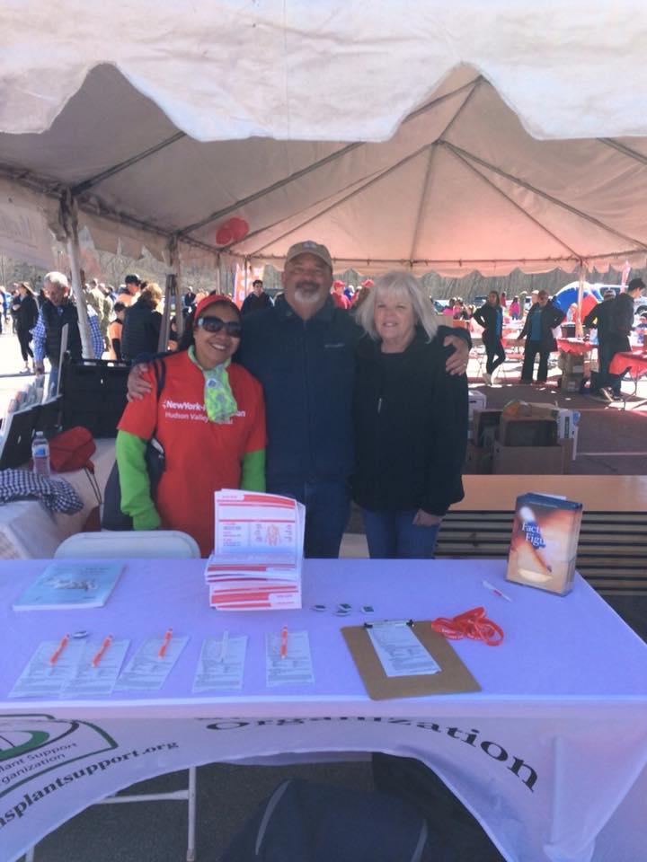 TSO Volunteers at a registration fair
